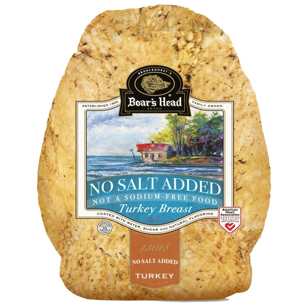 Boar's Head Turkey No Salt Added - Shop