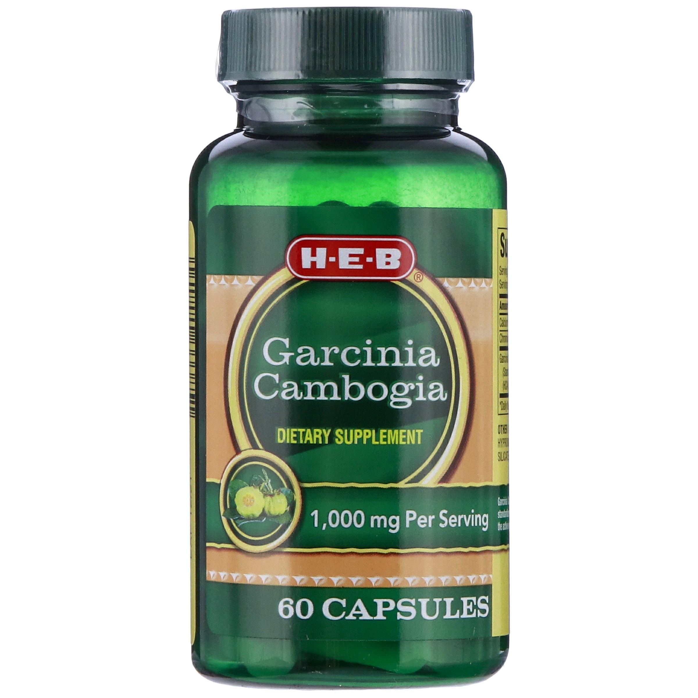 H E B Garcinia Cambogia 1000 Mg Shop Herbs Homeopathy At H E B
