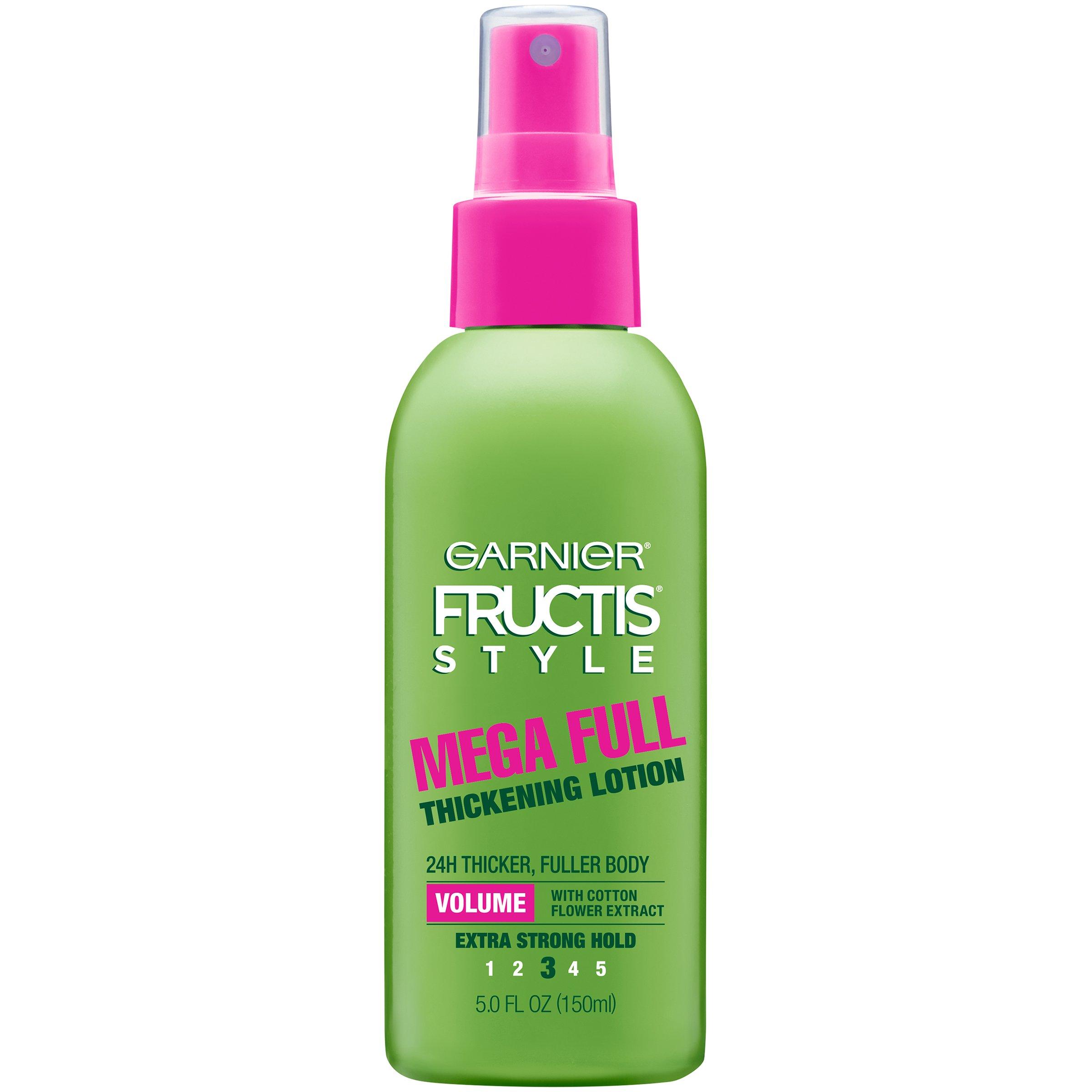 Garnier Fructis Full & Plush Mega Full Thickening Lotion - Shop Hair ...
