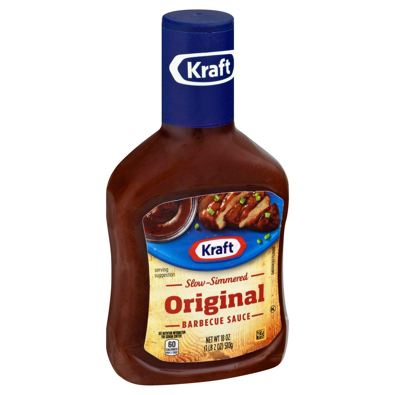 Kraft Original Bbq Sauce Shop Barbecue Sauces At H E B