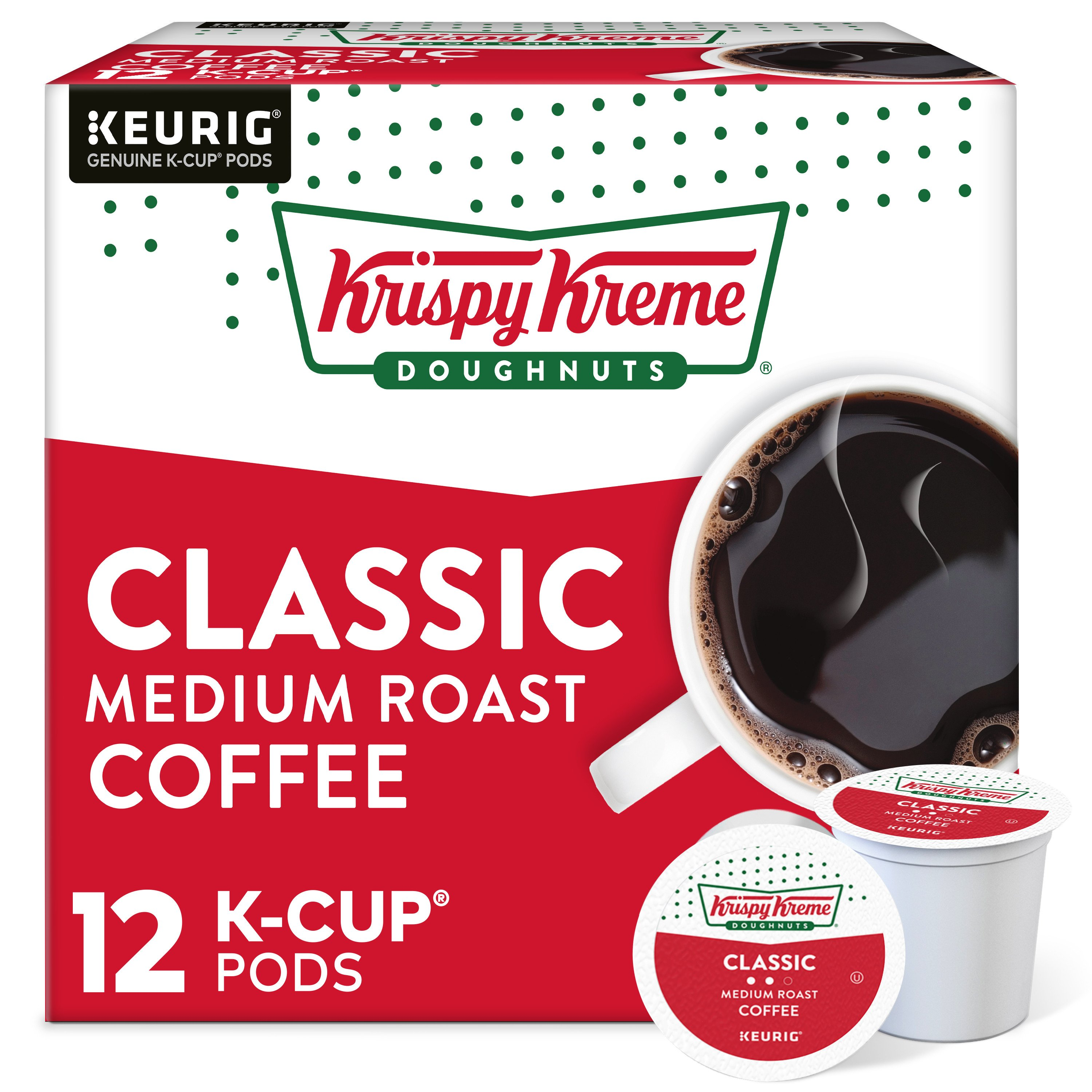 Krispy Kreme Smooth Light Roast Single Serve Coffee K Cups   Shop Single  Cup Coffee And Drinks At HEB