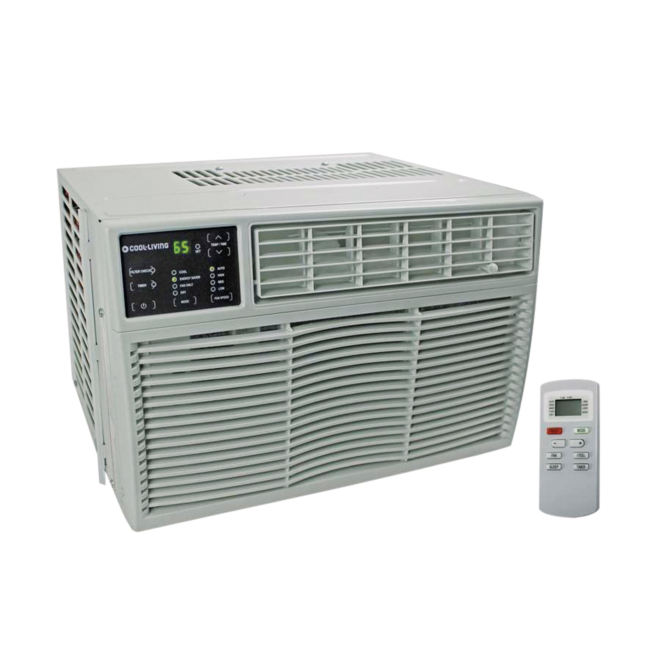 cool living btu window air conditioner with remote u2011 shop fans heaters and ac at heb