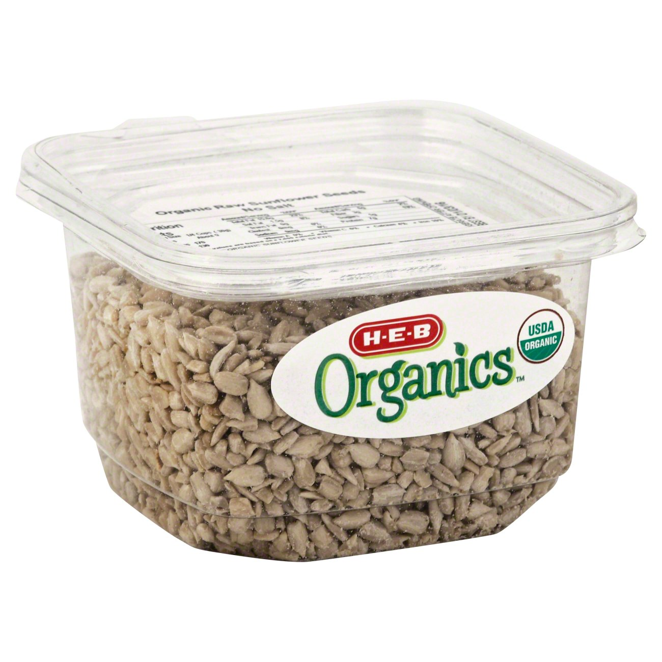 H-E-B Organics Raw Sunflower Seeds, Unsalted - Shop Nuts ...