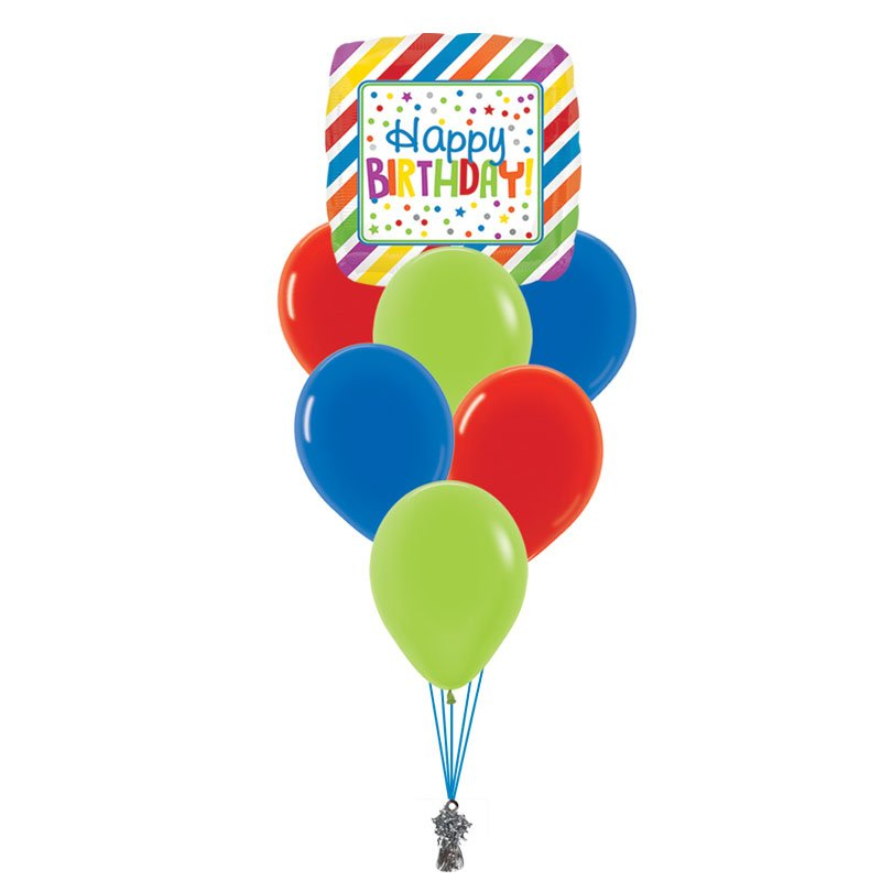 Happy Birthday Small Balloon Bouquet