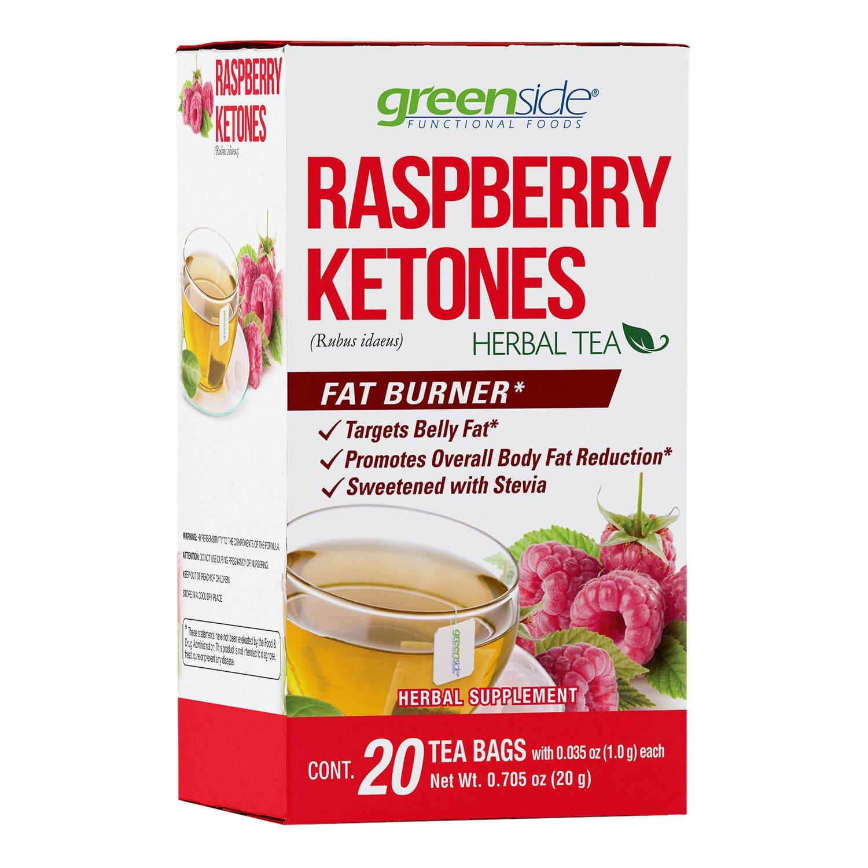 Greenside Raspberry Ketones Herbal Tea Shop Tea At H E B