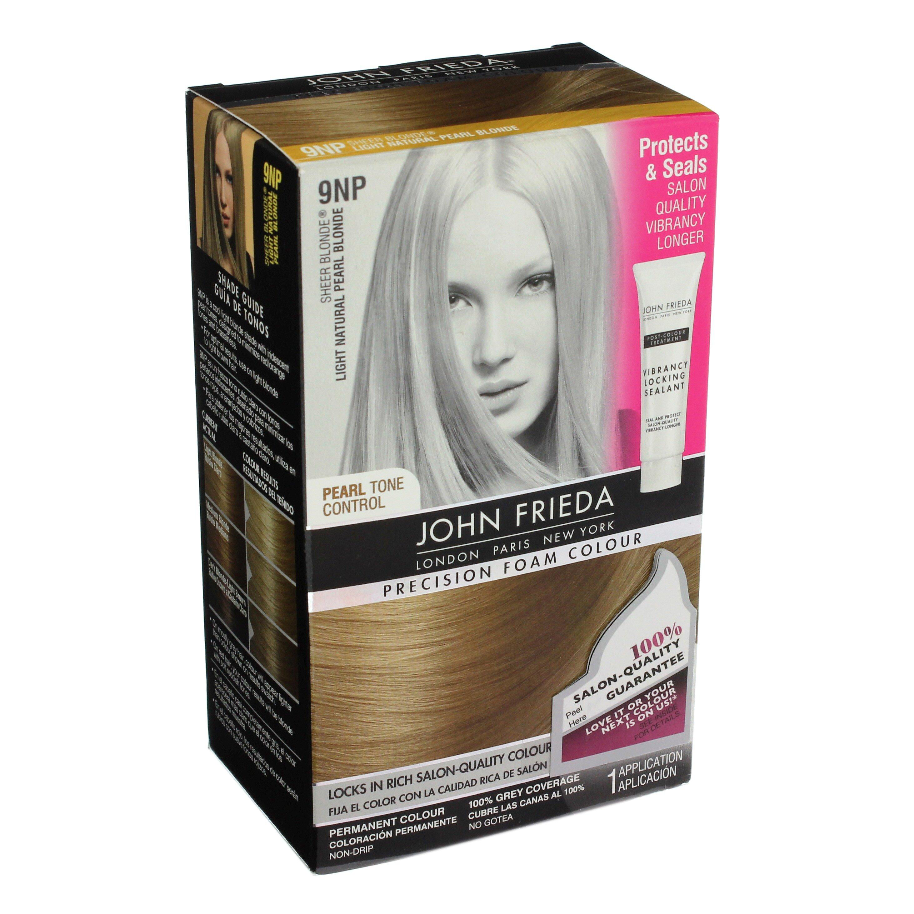 John Frieda Precision Foam Colour 9np Light Natural Pearl Blonde