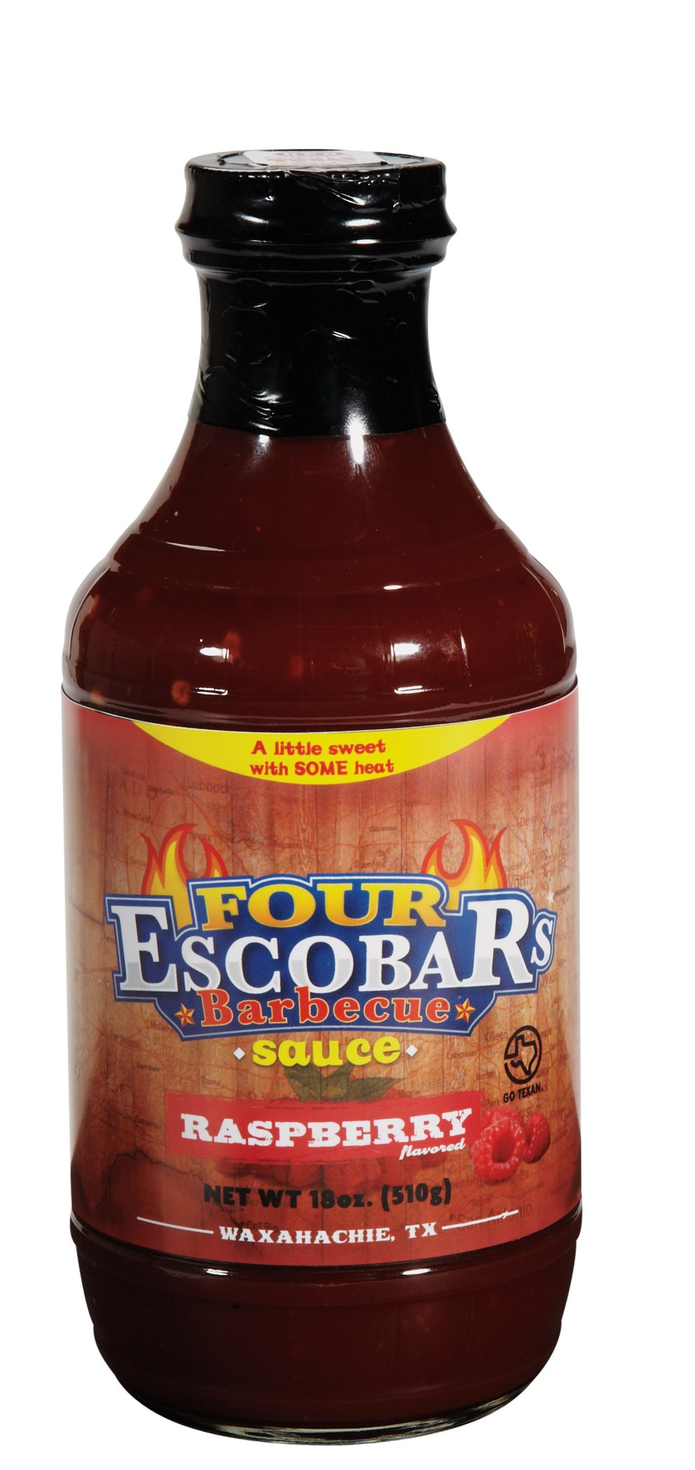 Four escobars bbq sauce for Bbq sauce label template