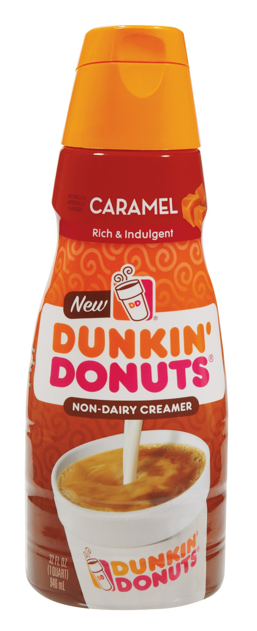 Dunkin' Donuts Caramel Liquid Coffee Creamer - Shop Coffee ...
