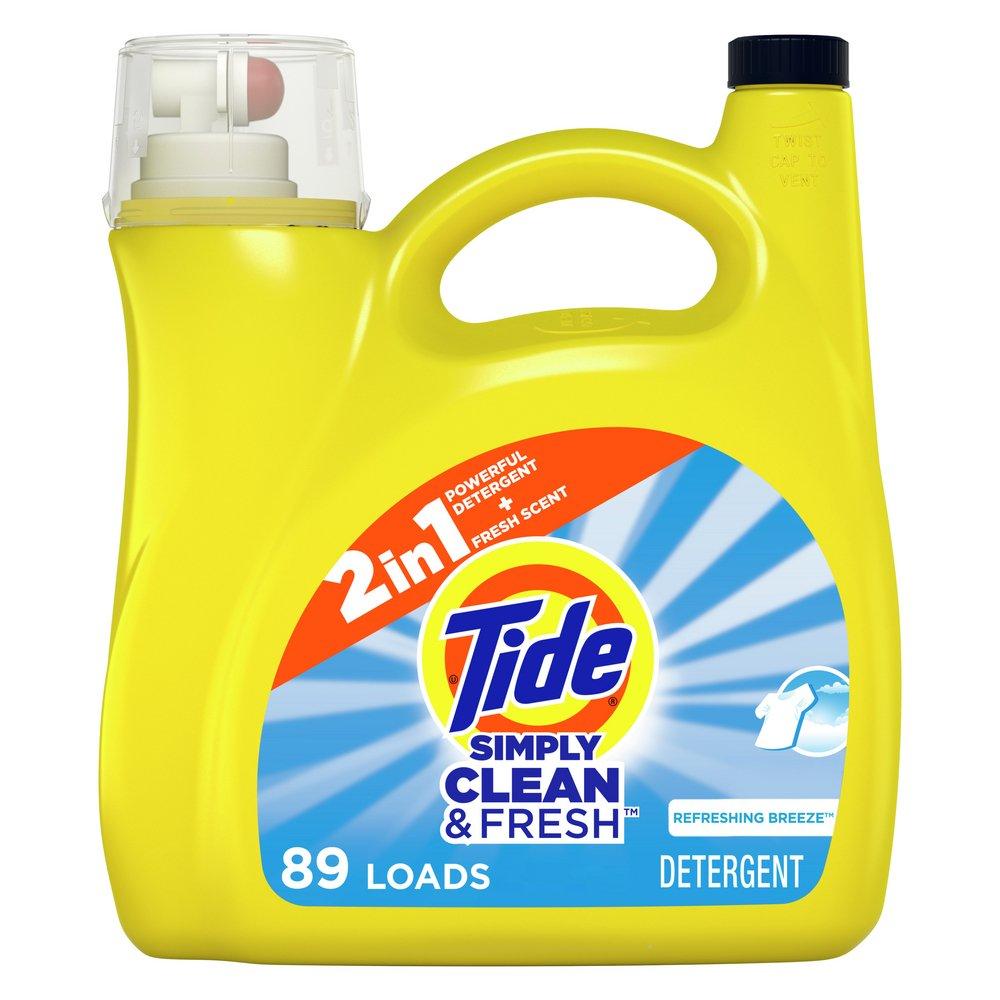 Tide Simply Clean Fresh Refreshing