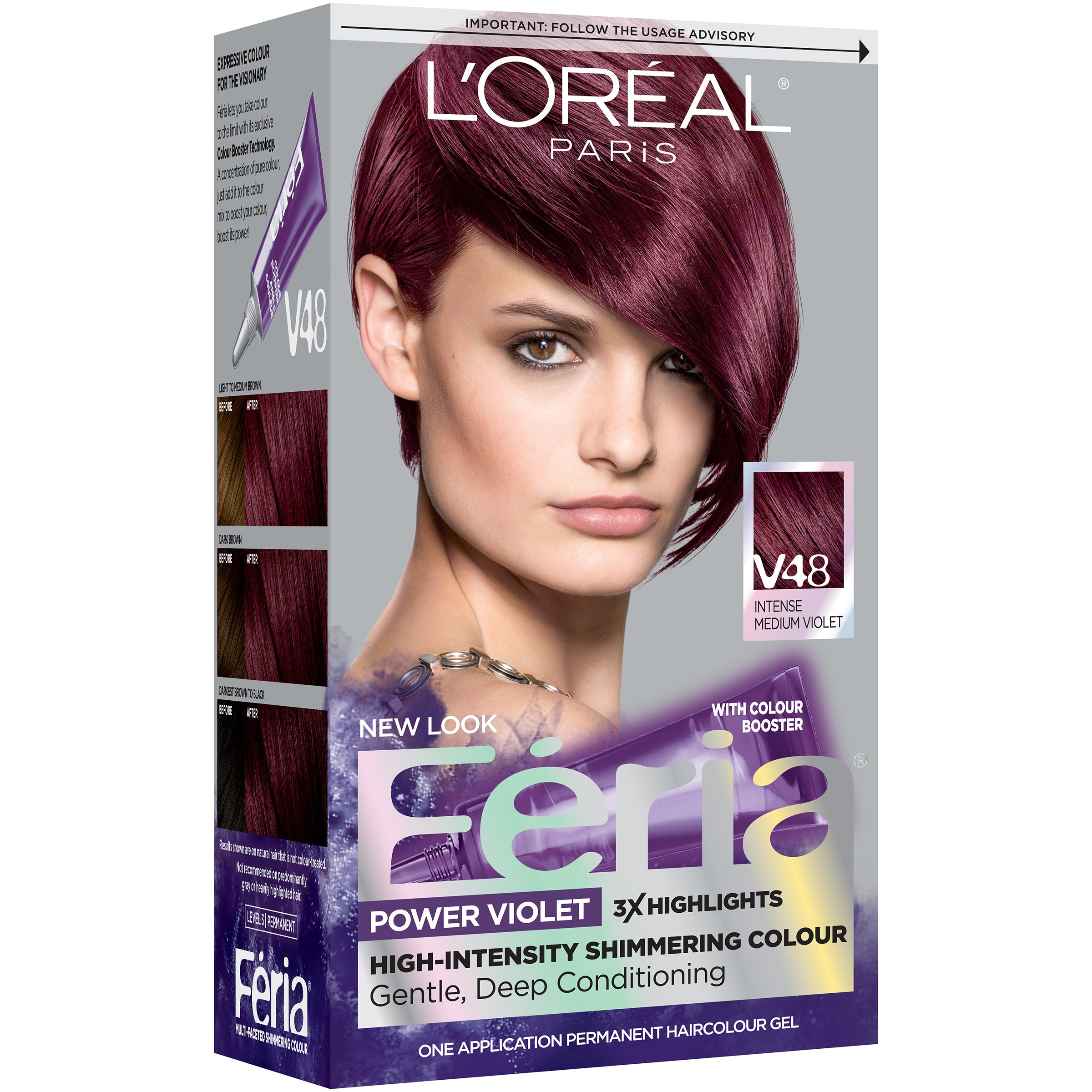 Loreal Chocolate Cherry Hair Color Reviews - Best