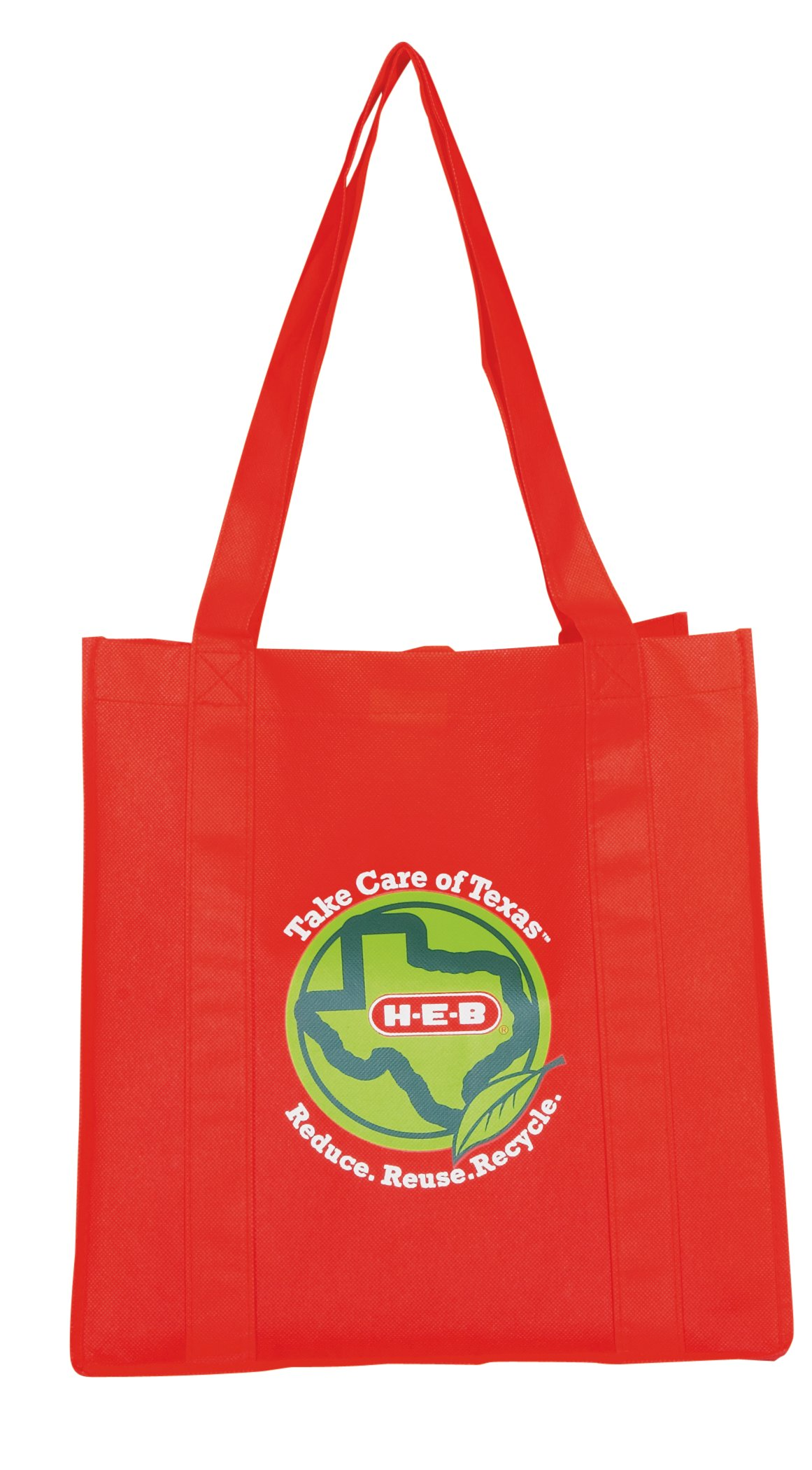 kitchen storage and organization shop heb everyday low prices online h e b reusable shopping bag red
