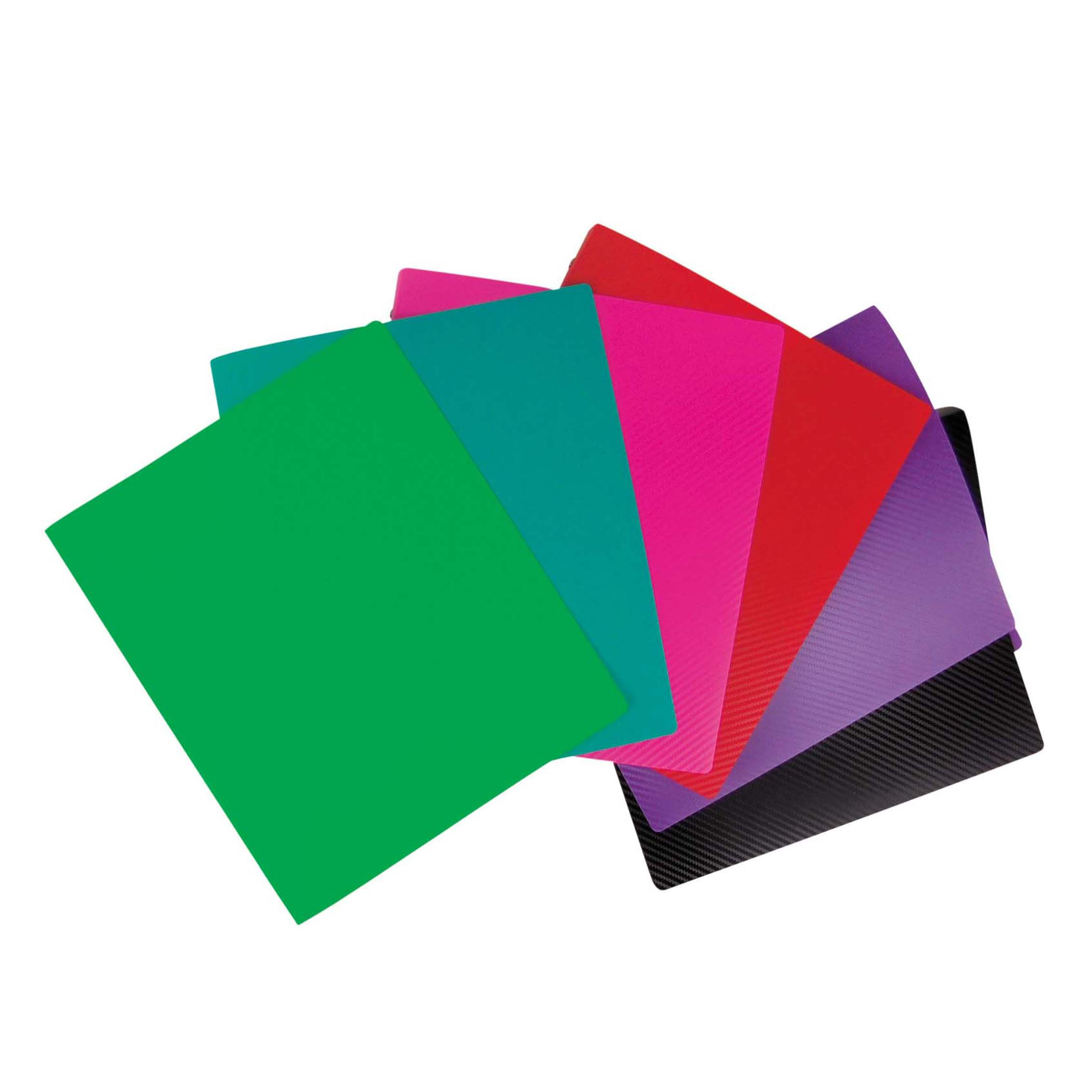 "Studio C Vinyl Binder 1/""-Sugarland Assorted Colors"