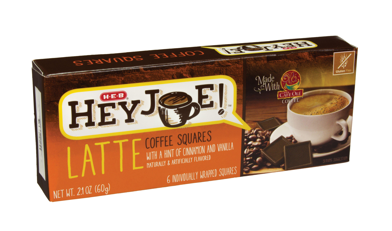 H-E-B Hey Joe Latte Coffee Squares