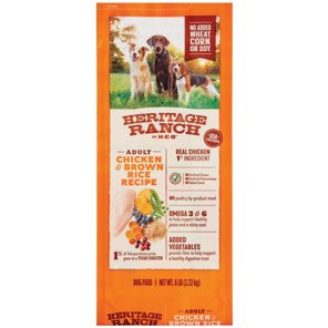 Heb heritage ranch chicken brown rice dry dog food shop dry at heb forumfinder Image collections