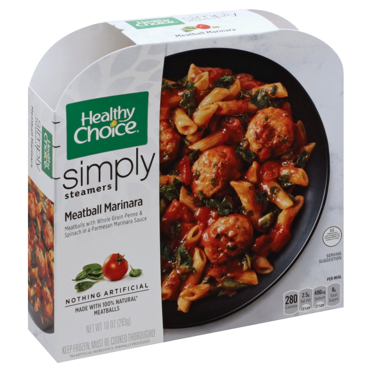 Healthy Choice Cafe Steamers Simply