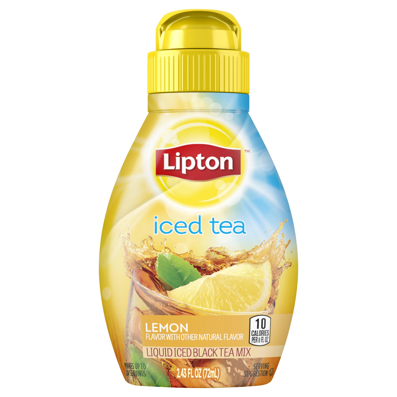 Lipton Lemon Iced Tea Liquid Mix ‑ Shop
