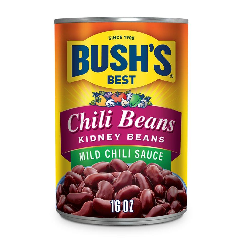 Bush S Best Chili Beans Kidney Beans In Mild Sauce Shop Beans Legumes At H E B