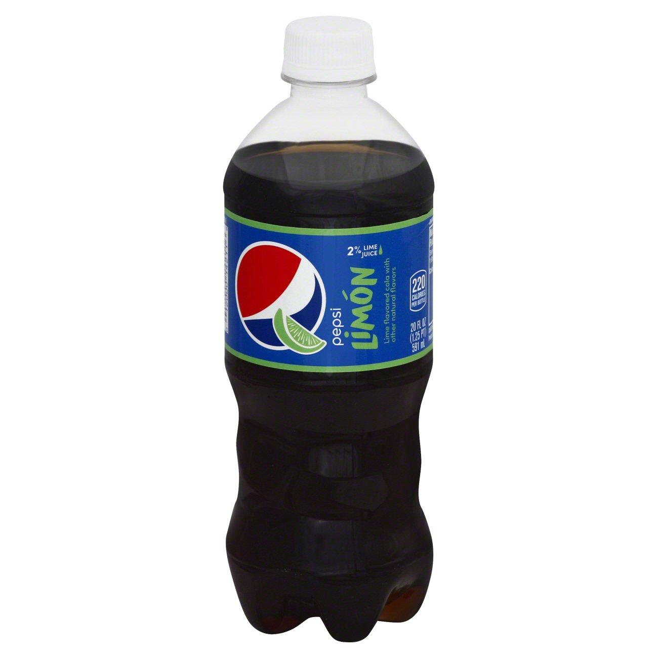 Pepsi Limon Soda - Shop Soft Drinks at HEB