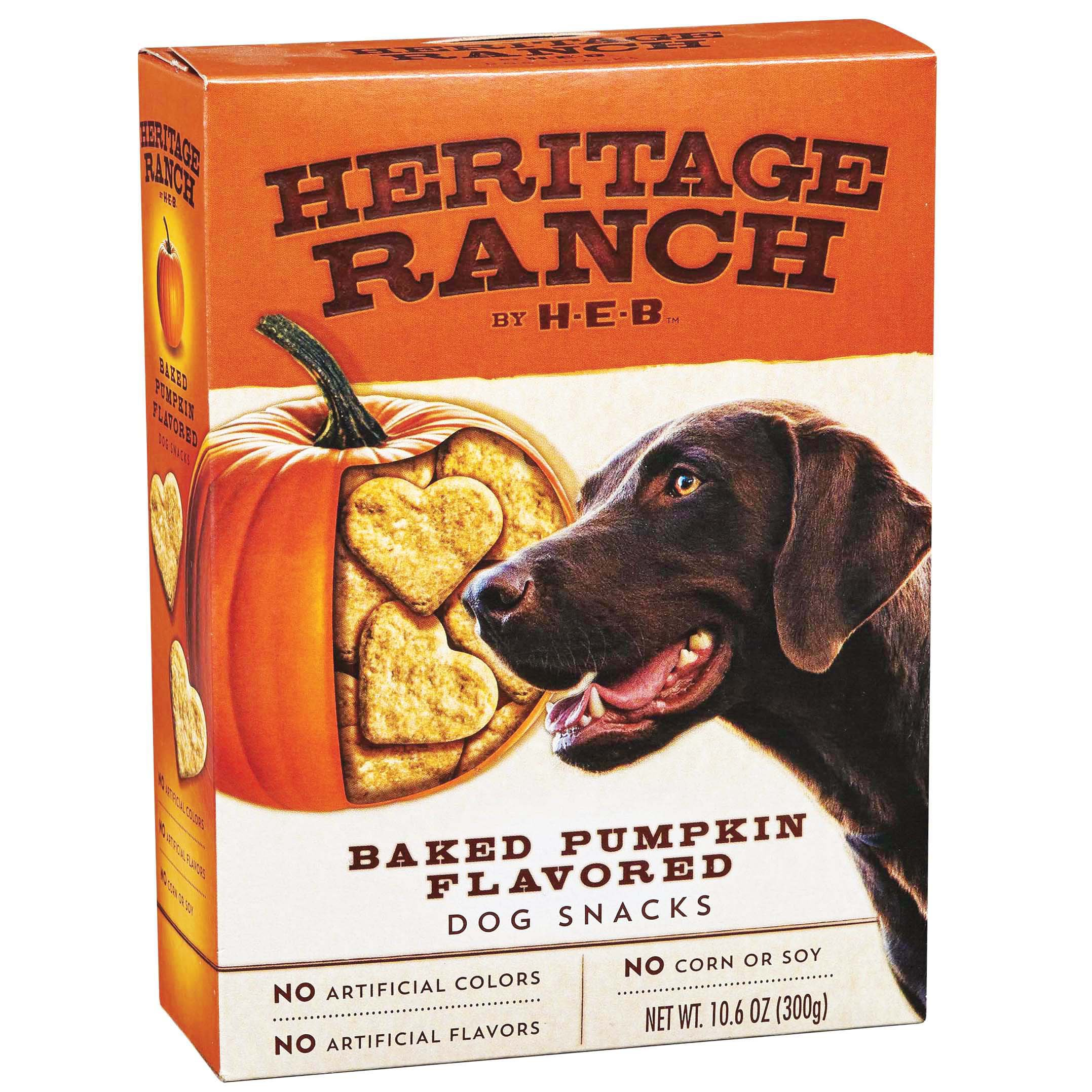 Country Kitchen Dog Treats H E B Heritage Ranch Dog Snacks Baked Pumpkin Shop Biscuits At Heb