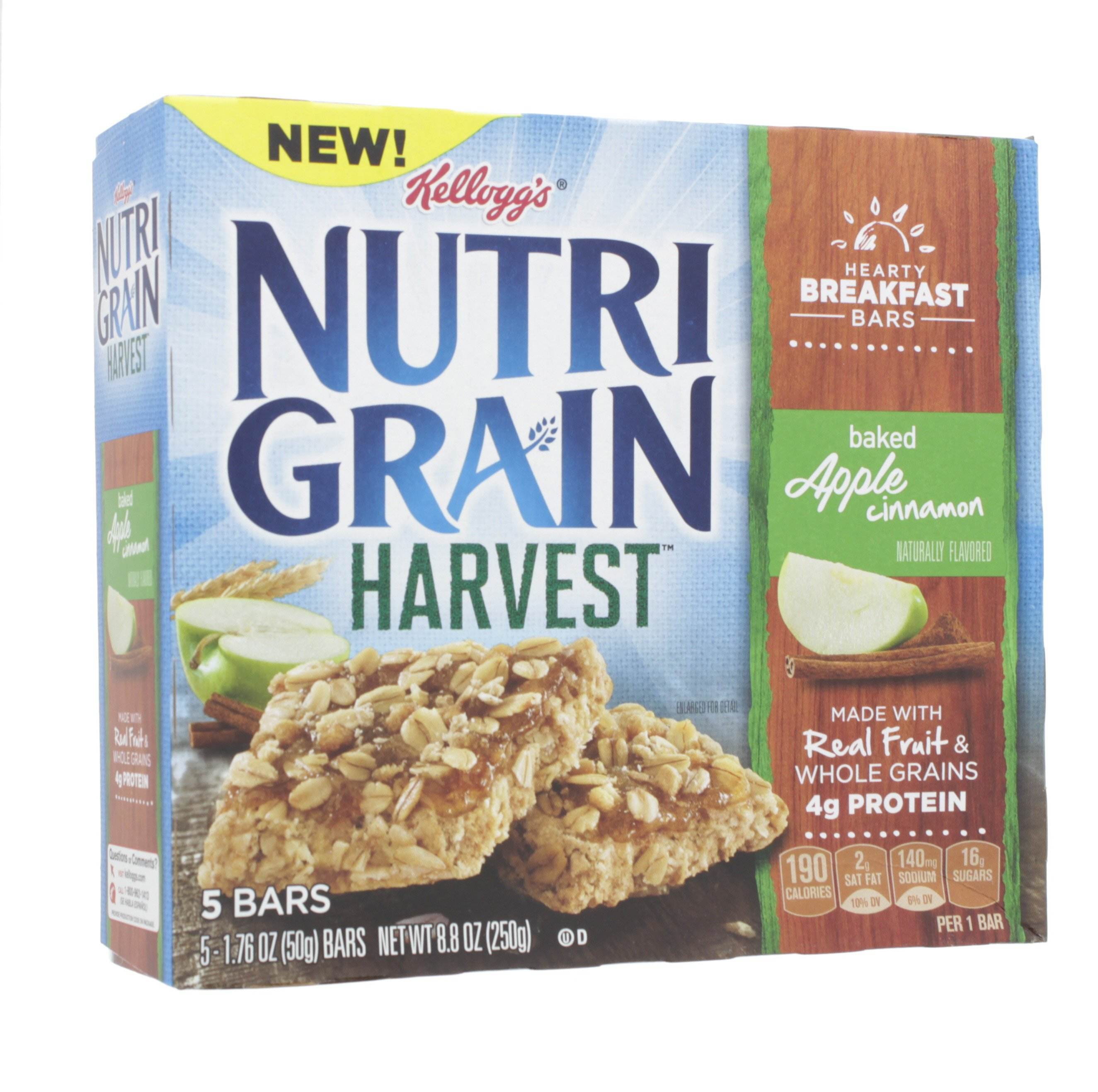 Kelloggs Nutri-Grain Cereal Bars - Nutrition Zone