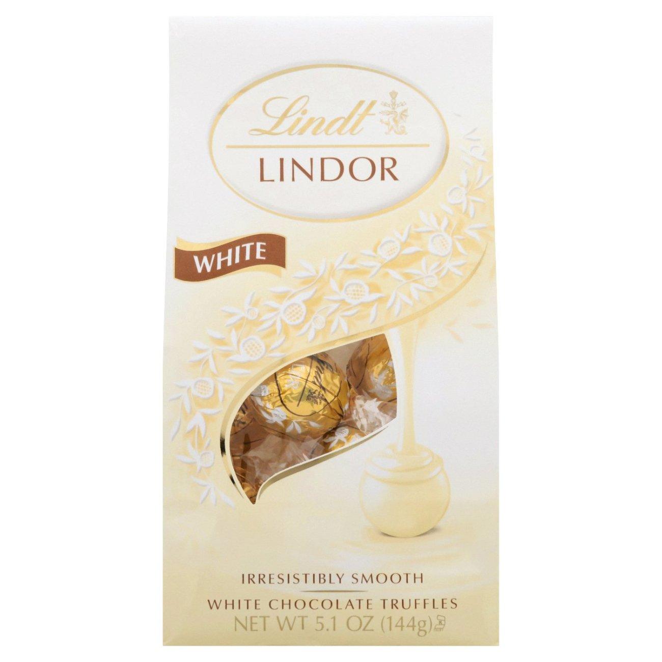 Lindt Lindor White Milk Chocolate ...