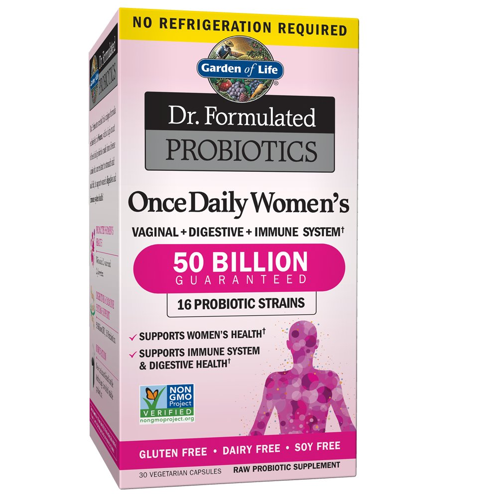 women once formulated garden of probiotics raw vcaps probiotic pharmaca dr daily life