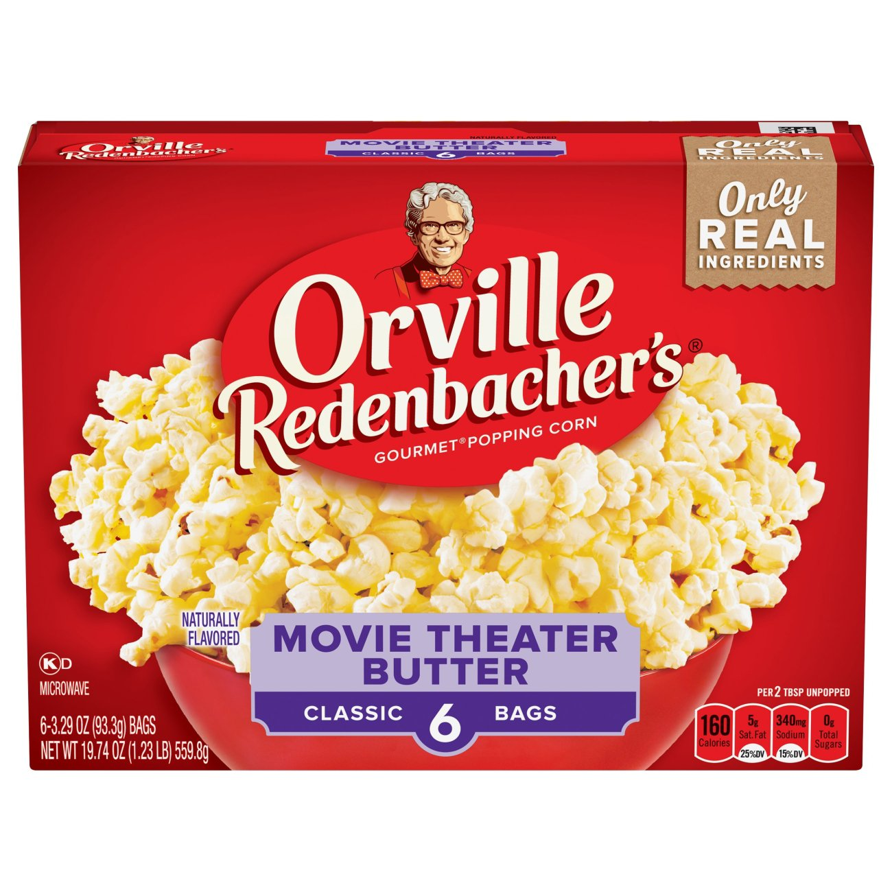 Orville Redenbacher S Movie Theater Butter Microwave Popcorn Shop Popcorn At H E B