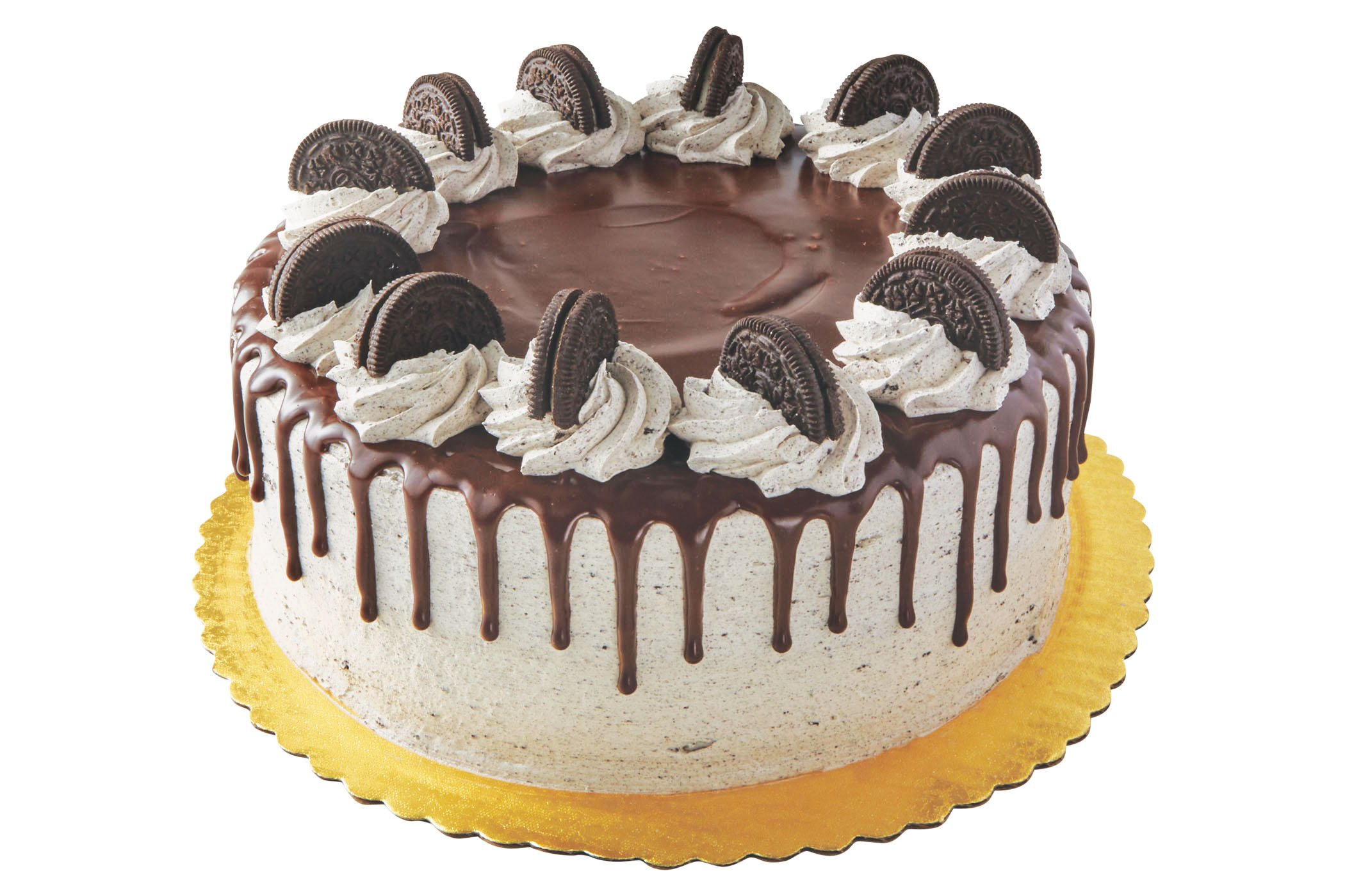 Pleasing Heb Chocolate Cake With Oreo Icing Shop Cakes At Heb Funny Birthday Cards Online Kookostrdamsfinfo