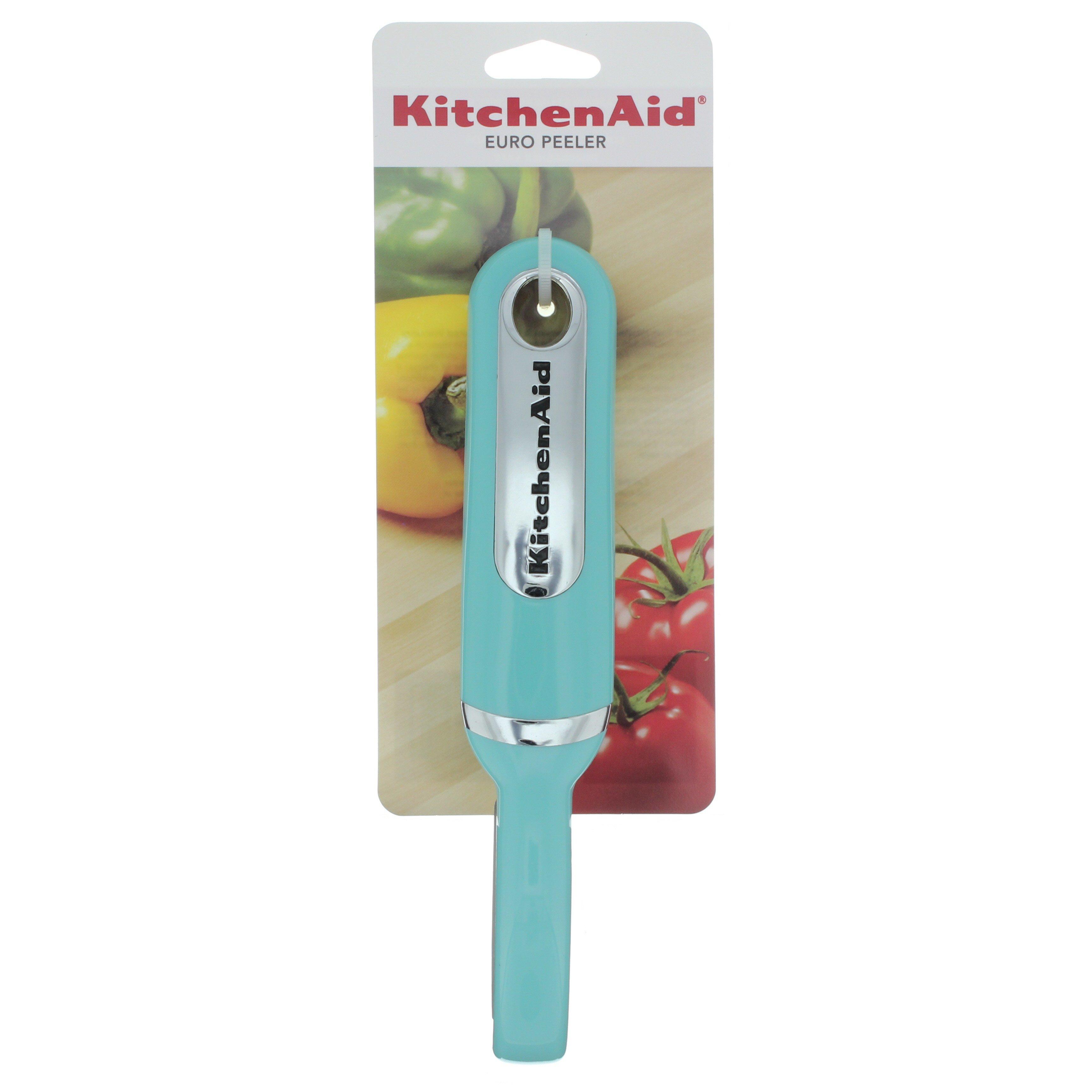 Kitchenaid Aqua Sky Euro Peeler Shop Utensils Gadgets At H E B