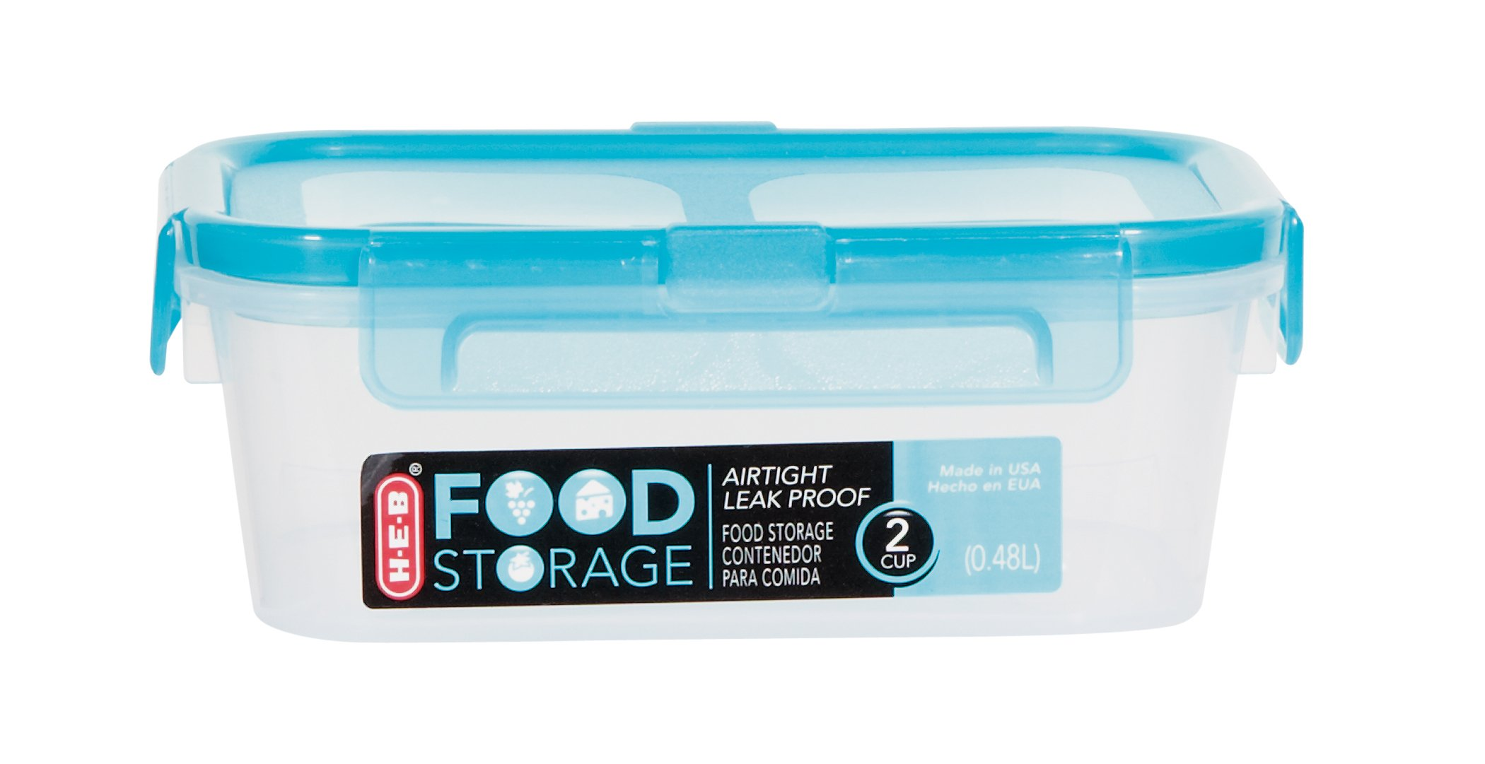 H E B 2 Cup Air Leak Proof Food