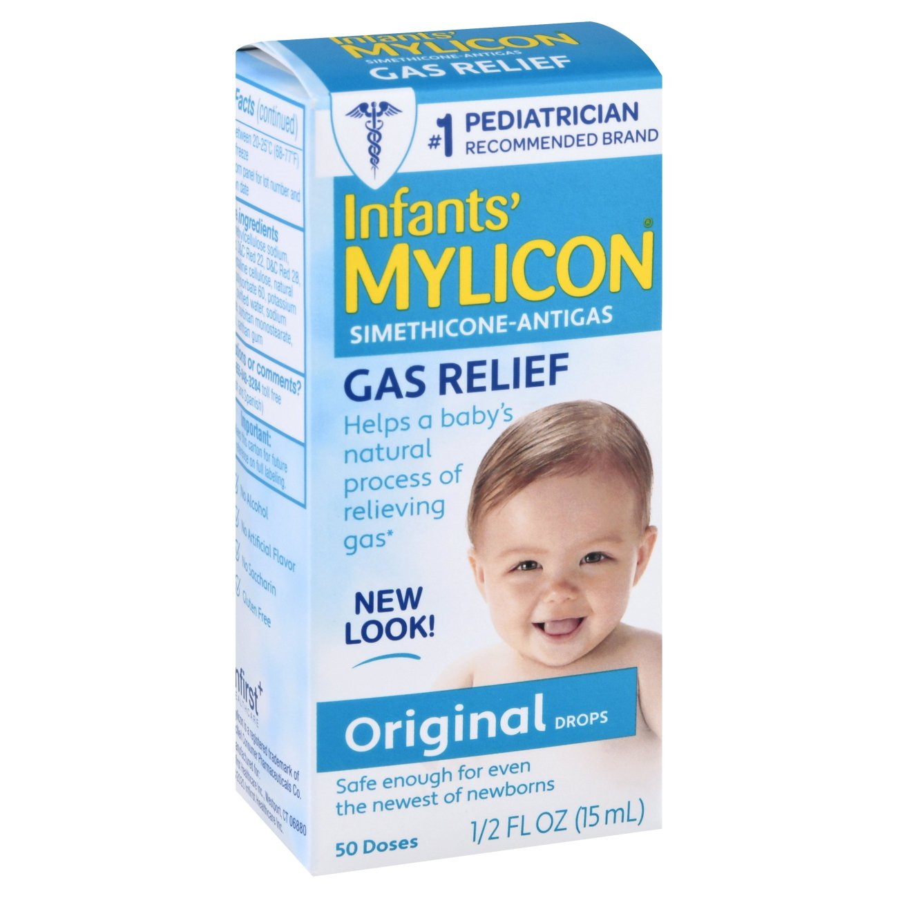Mylicon Infants Gas Relief Original Drops Shop Digestion Nausea At H E B