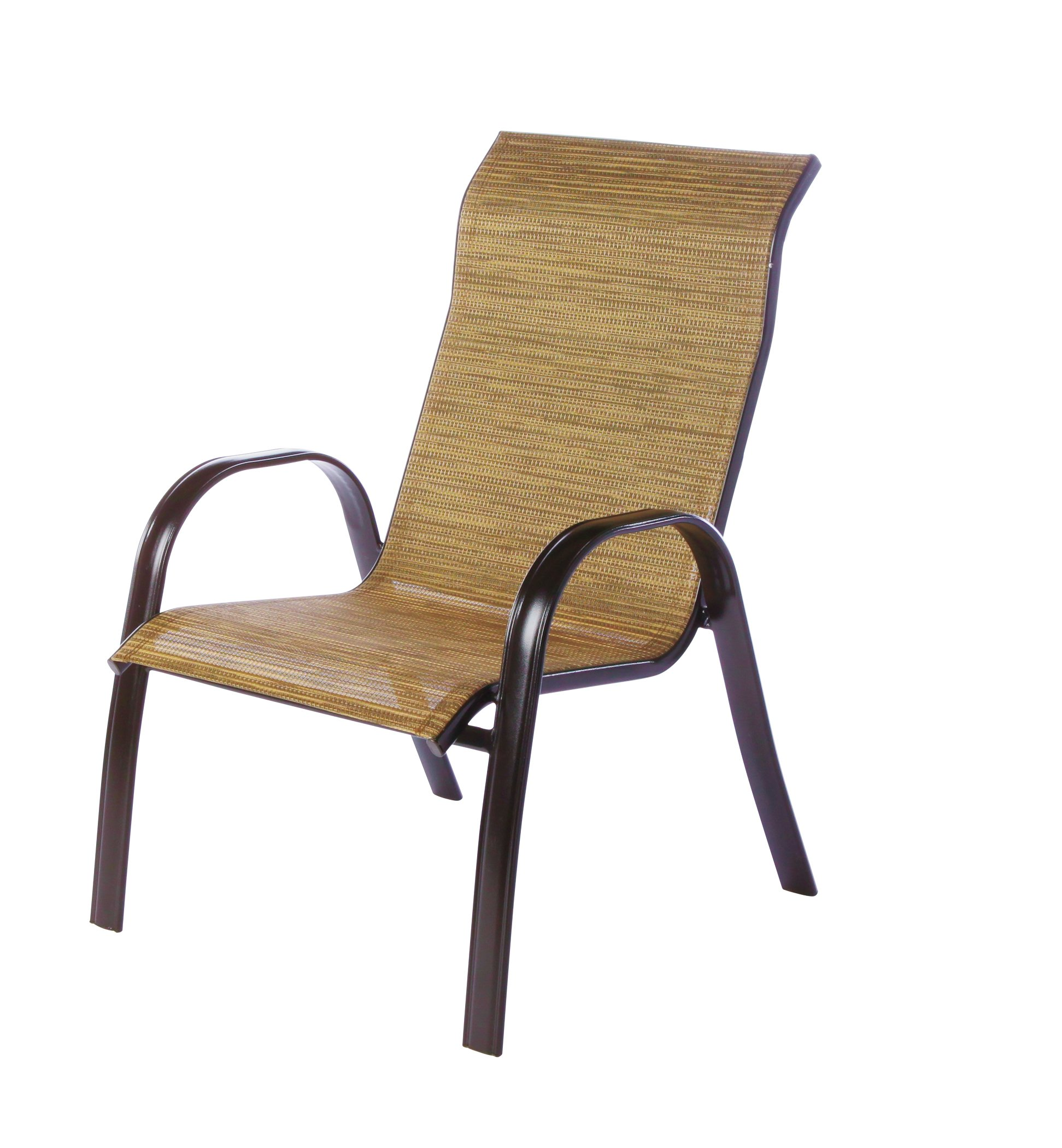 Outdoor Solutions Oversized Sling Chair Bamboo Shop Furniture