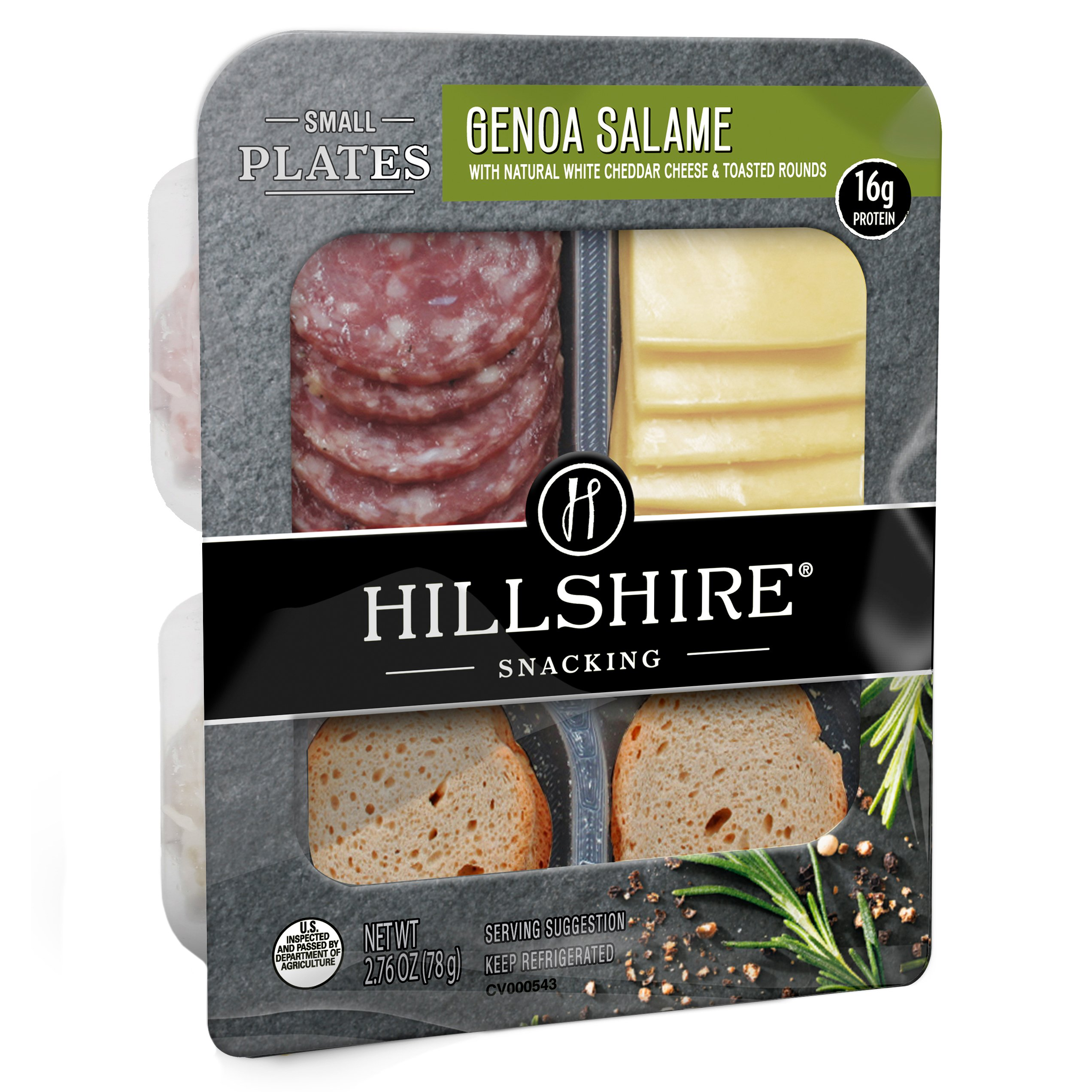Hillshire Farm Genoa Salame And White Cheddar Cheese Snack Plate Shop Snack Trays At H E B