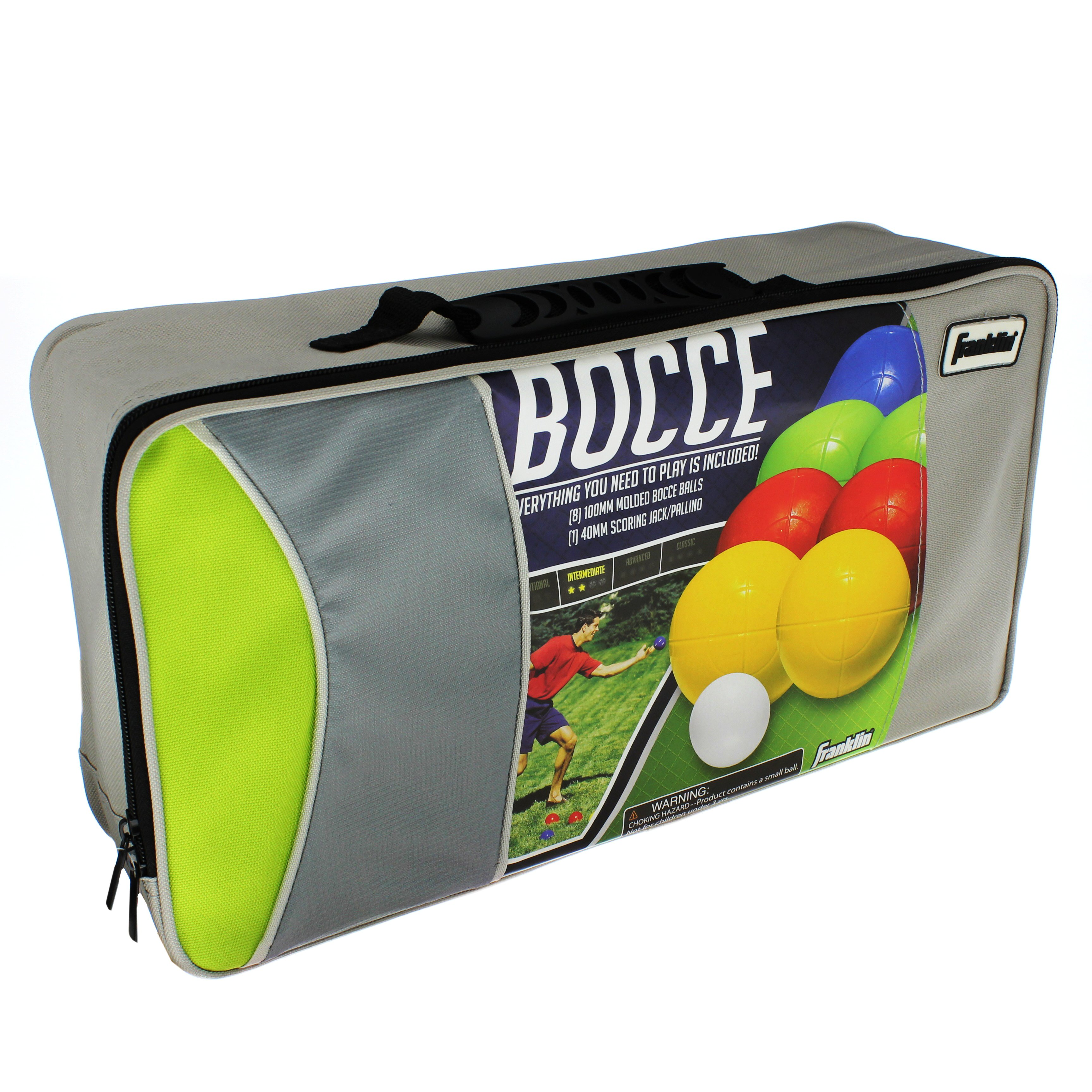 Bocce Toys & Games Franklin Sports Advanced 100mm Bocce Set ...