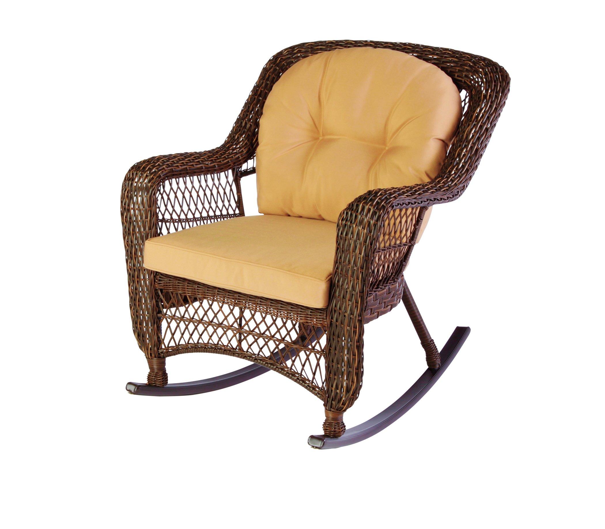 Zest Garden Palmetto II Garden Resin Rocker Shop Furniture at HEB