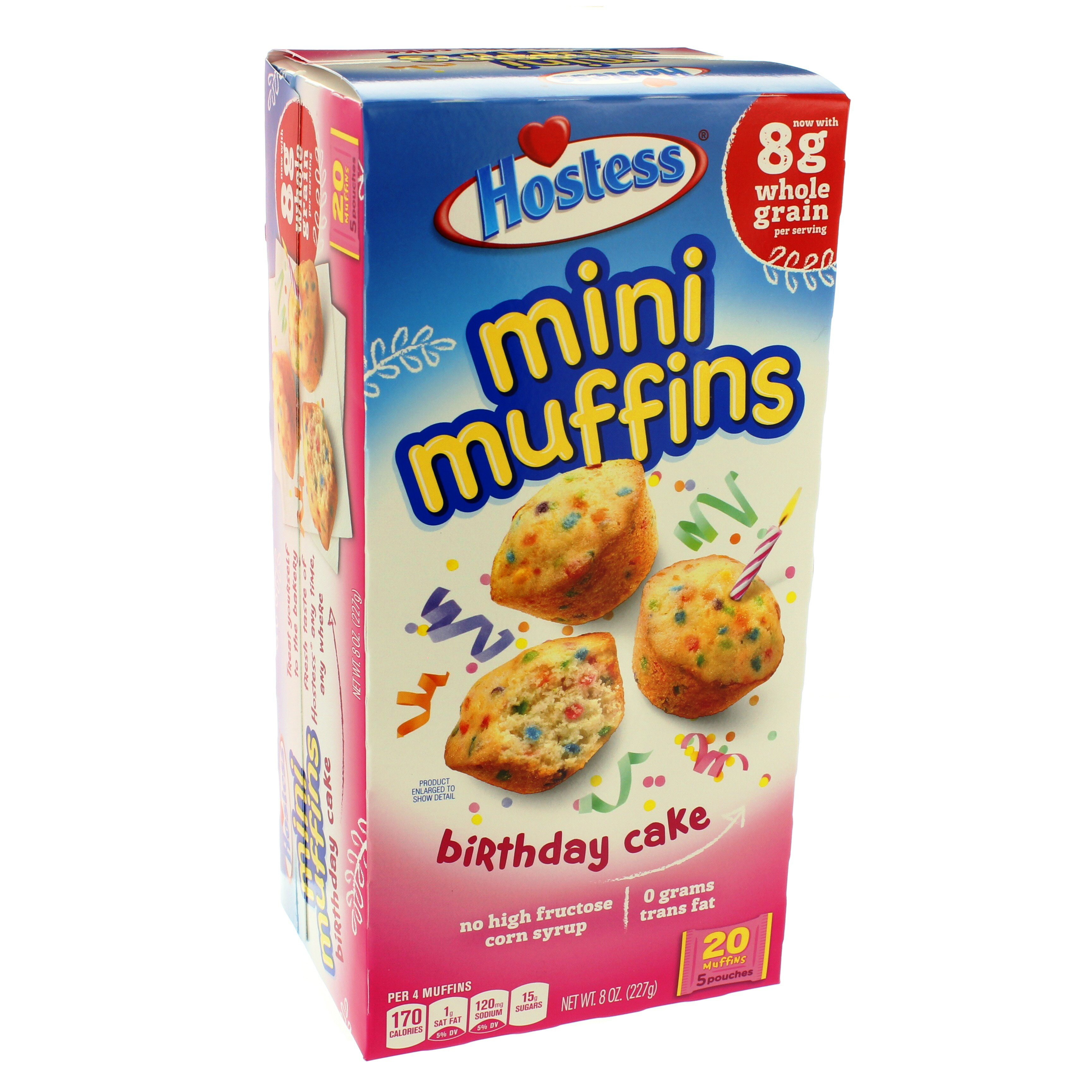 Amazing Hostess Birthday Cake Mini Muffins Shop Snack Cakes At Heb Funny Birthday Cards Online Eattedamsfinfo