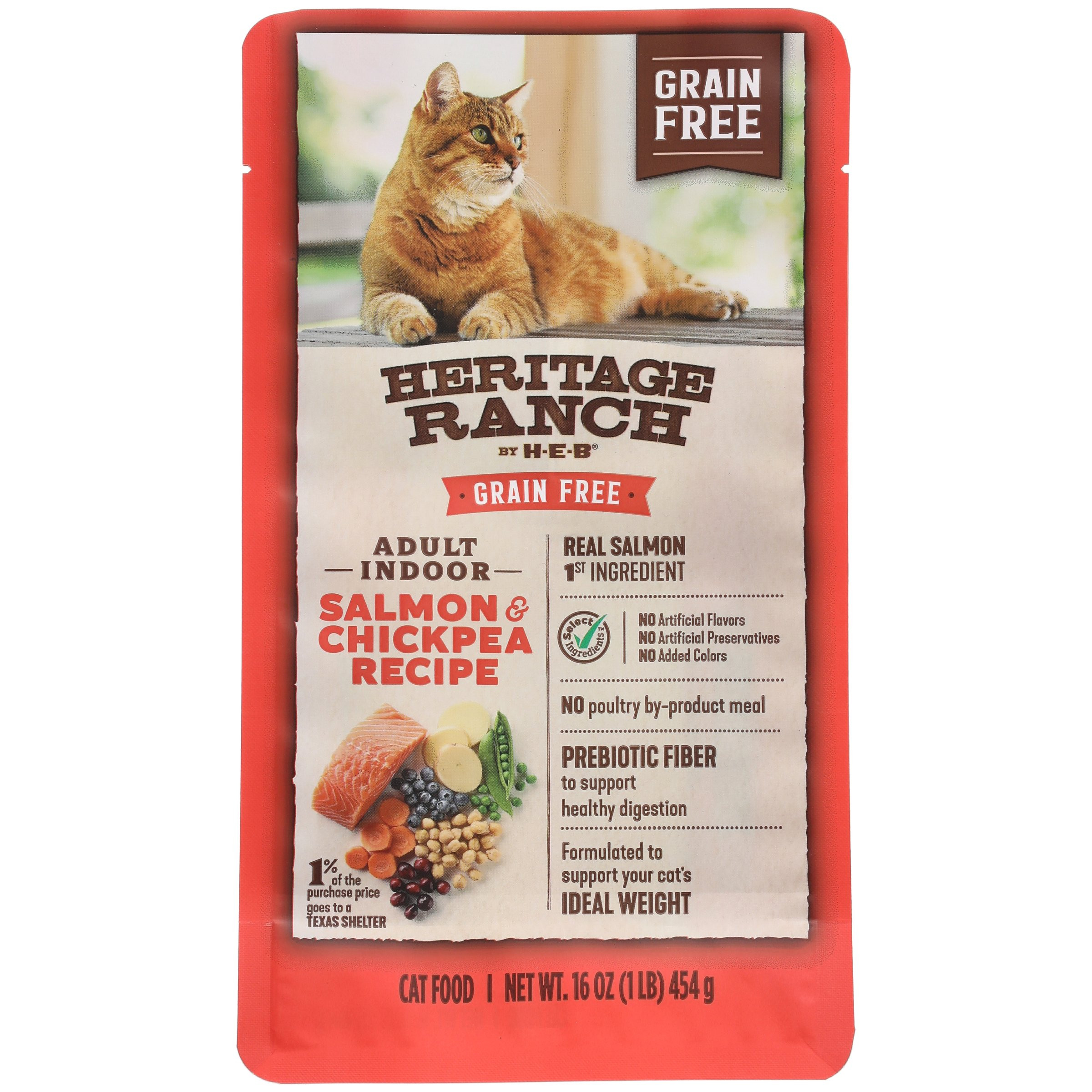 Heb heritage ranch salmon chick pea grain free dry cat food heb heritage ranch salmon chick pea grain free dry cat food shop dry at heb forumfinder Gallery