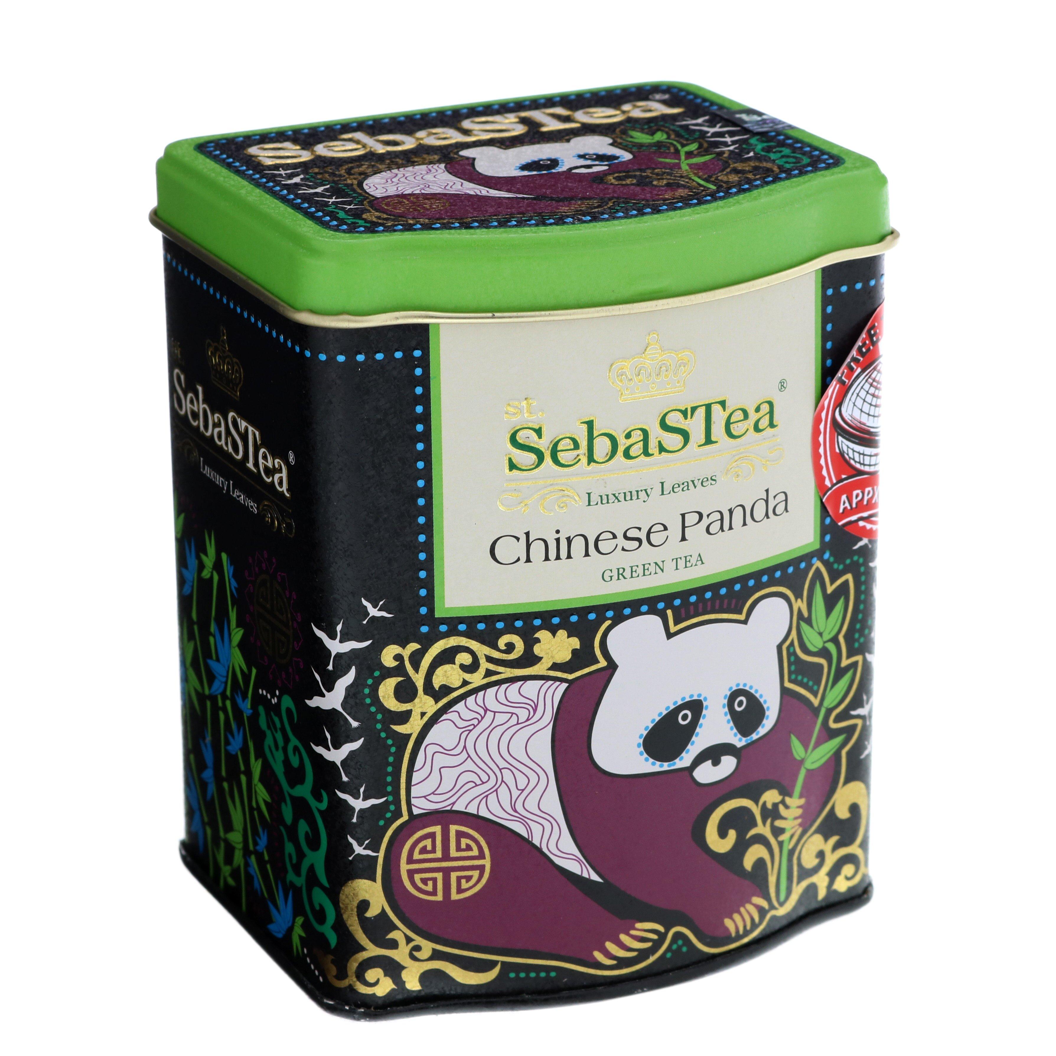 SebaSTea Chinese Panda Green Tea Luxury Leaves - Shop Tea ...
