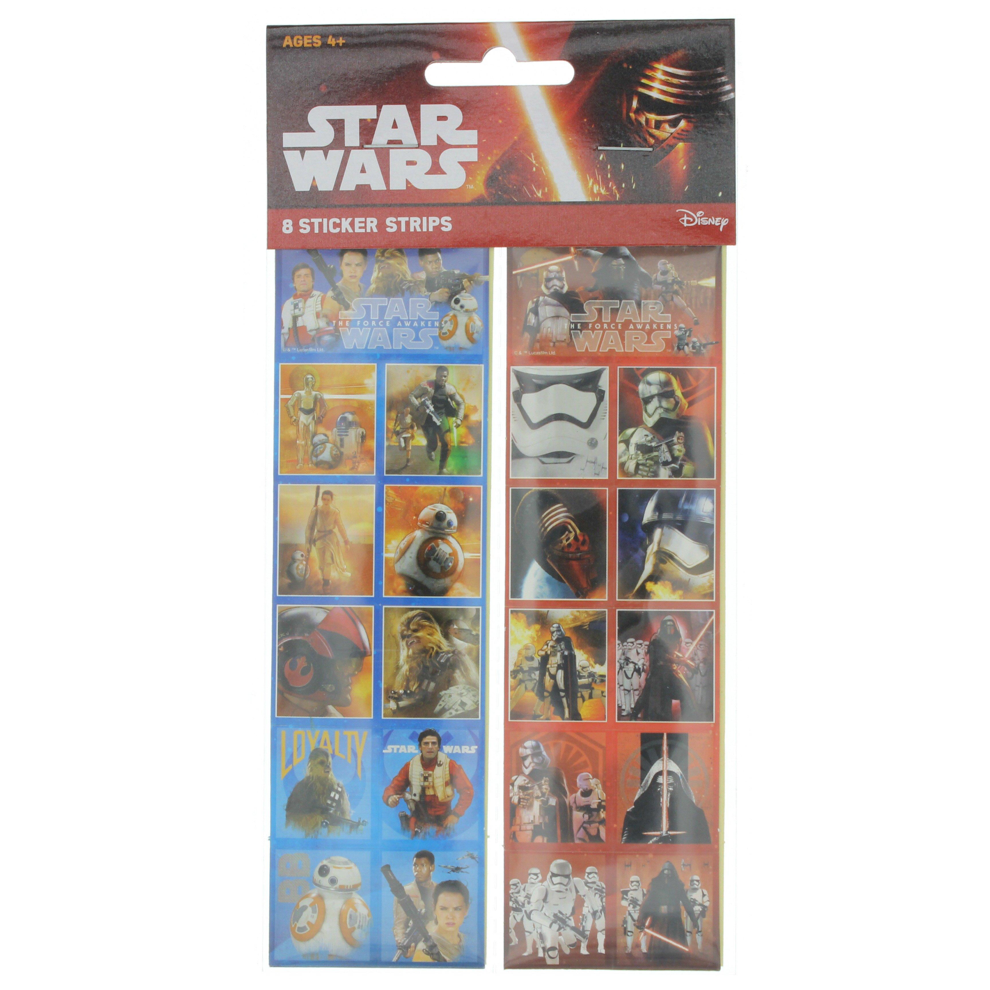 American Greetings Star Wars Sticker Strip Shop Craft Supplies At Heb