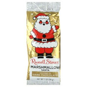 Russell Stover Dark Chocolate Marshmallow Santa  Shop Candy at HEB