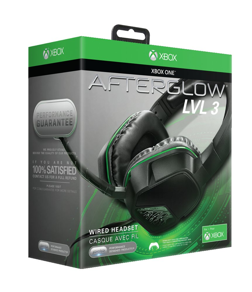 PDP XBox Afterglow LVL 3 Gaming Stereo Communicator Headset - Shop ...