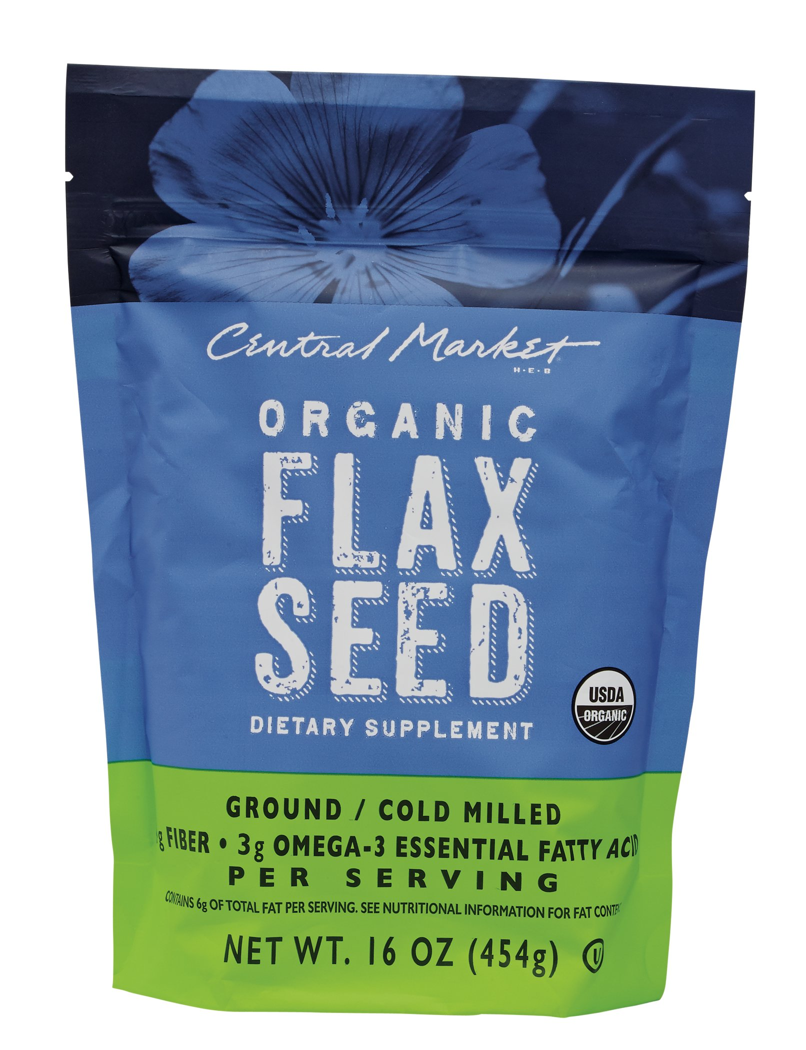 Bulk flax seed for crafts - Central Market Organic Flaxseed Dietary Supplement