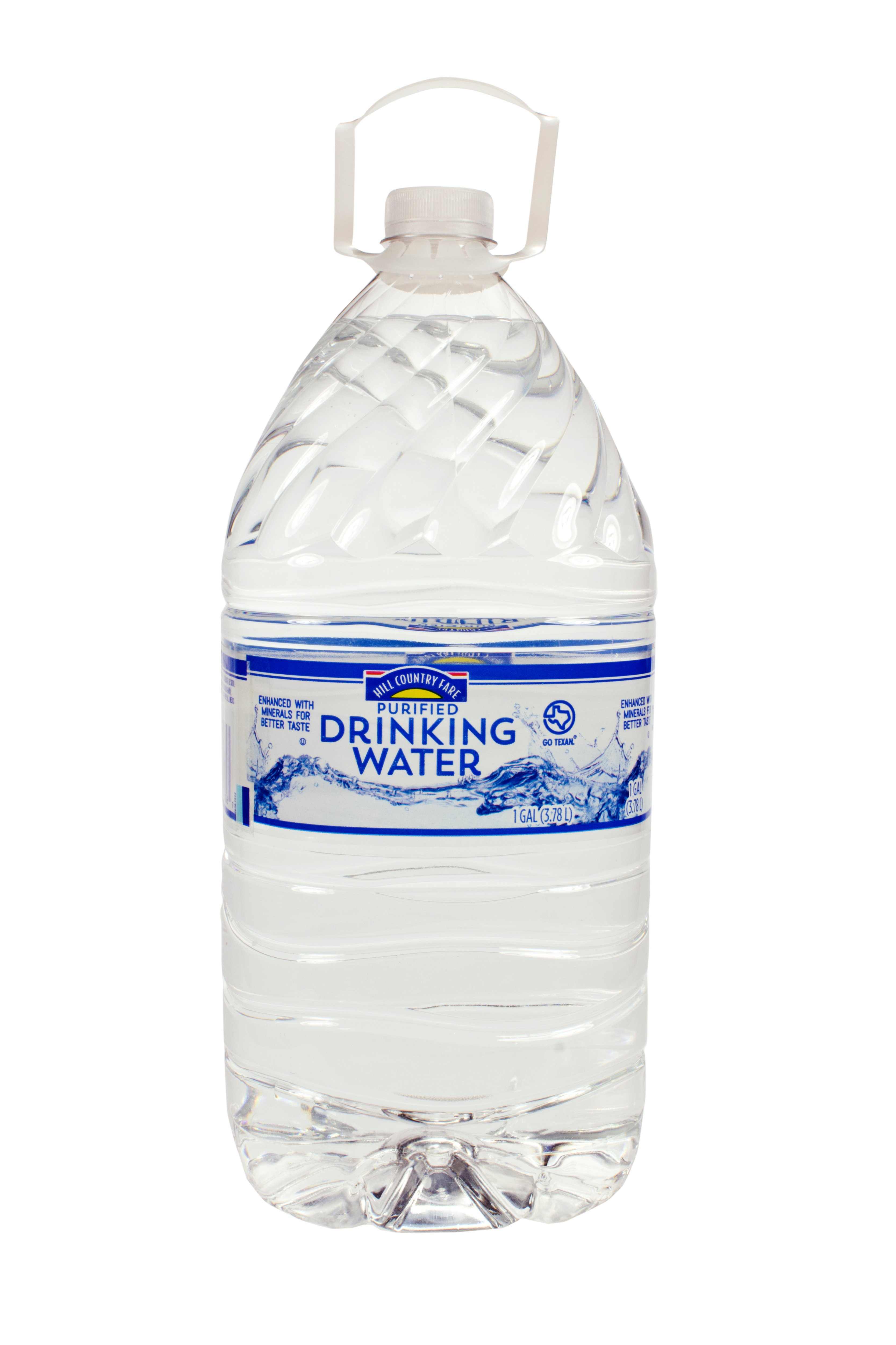 Purifying Drinking Water Hill Country Fare Purified Drinking Water Shop Water At Heb