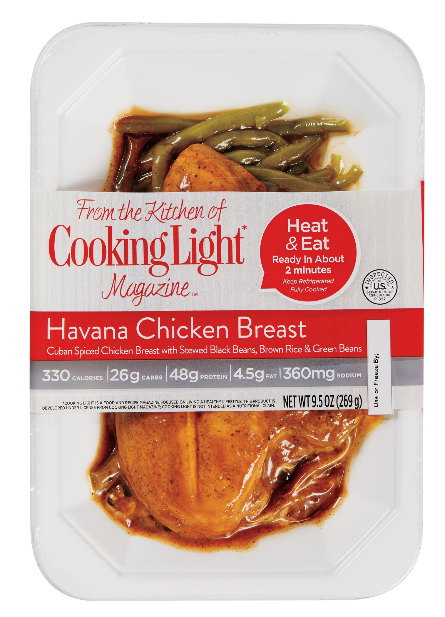 Cooking Light Havana Chicken With Black Bean And Brown Rice   Shop Entrees  U0026 Sides At HEB