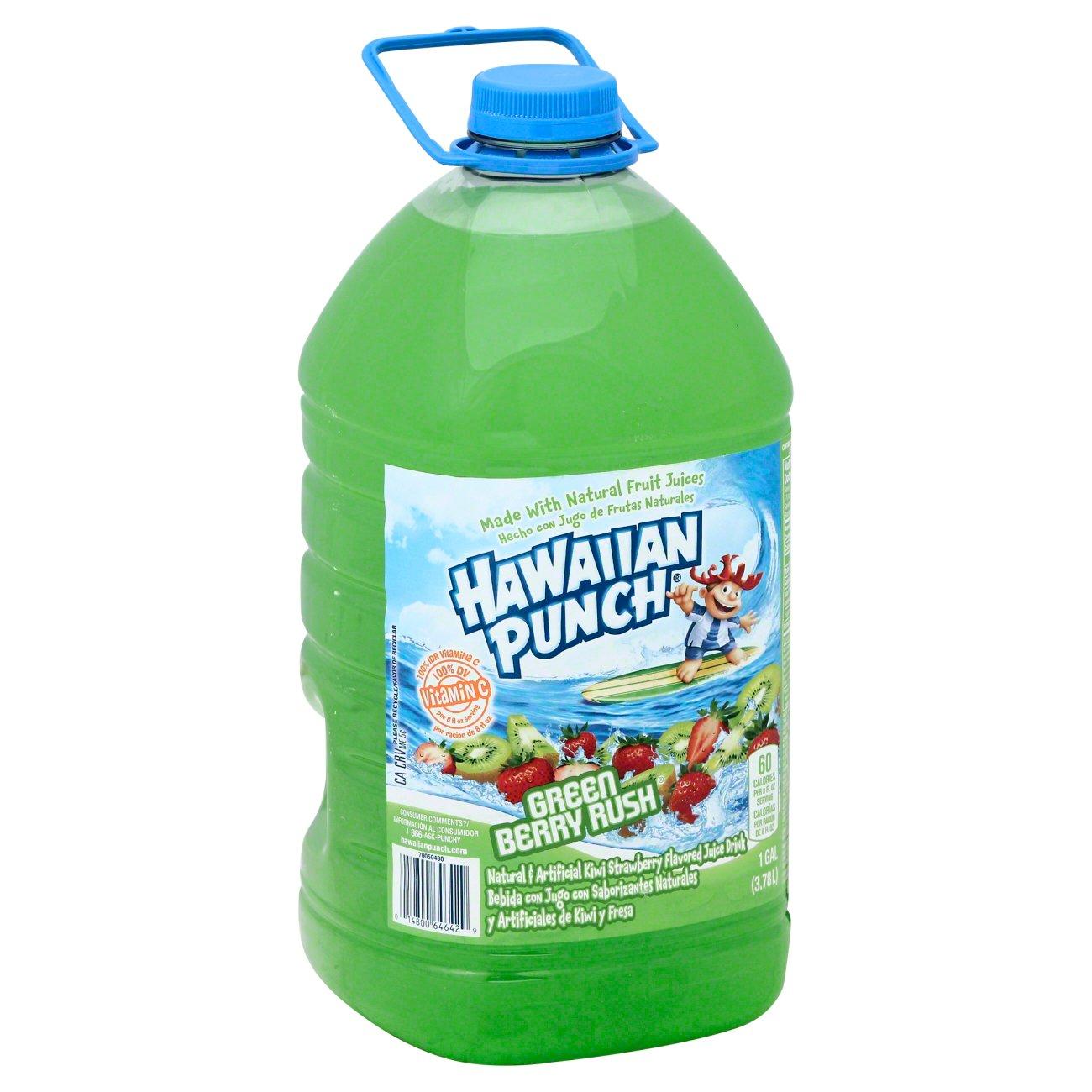 Hawaiian Punch Green Berry Rush Juice Drink