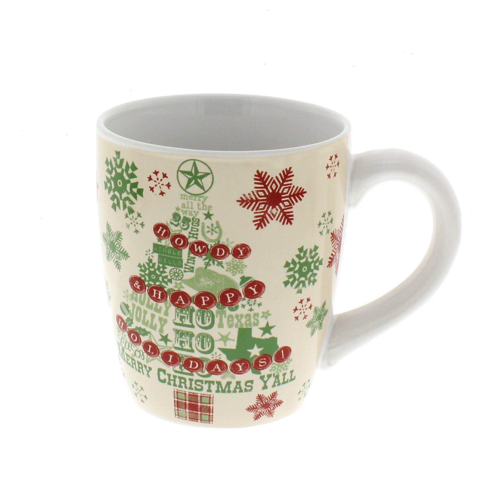 Dining Style Lone Star Christmas Stoneware Mug - Shop Glassware at HEB