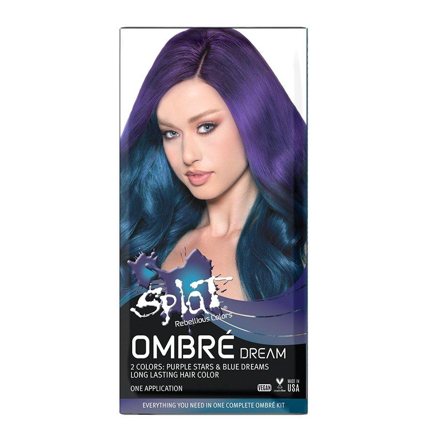 Splat Midnight Hair Color Indigo 6 0 Fl Oz Target