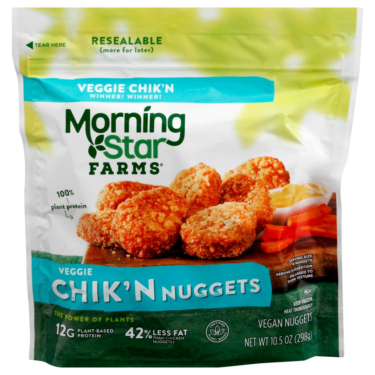 Morningstar Farms Classics Chick N Nuggets Shop Meat Alternatives At H E B