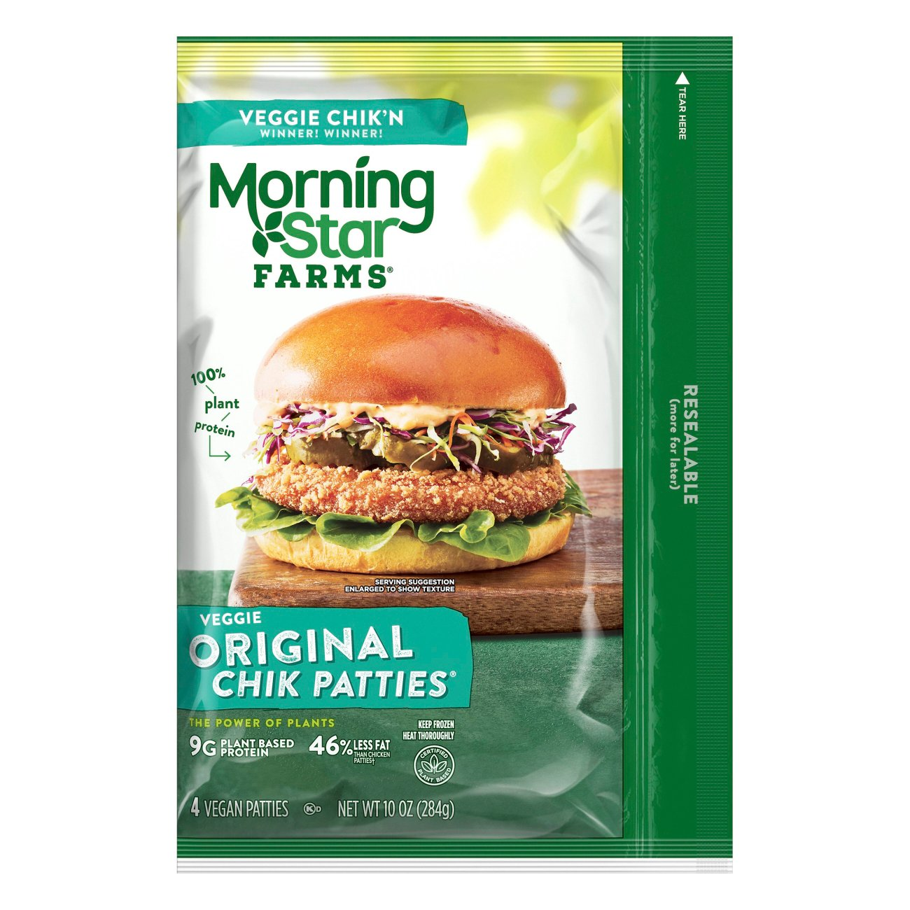 Morningstar Farms Original Chik Veggie Patties Shop Meat Alternatives At H E B