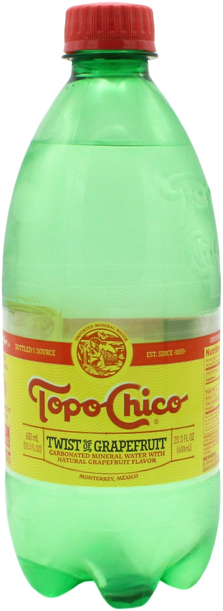Topo Chico Twist Of Grapefruit Sparkling Mineral Water Shop Water At H E B